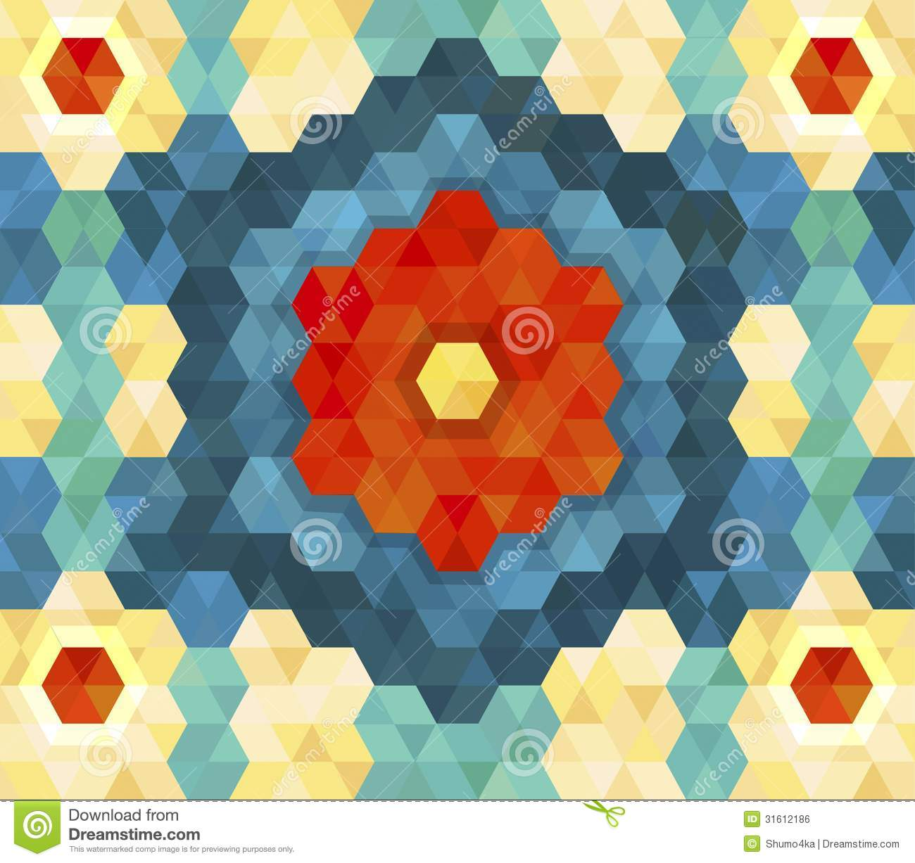 3d hexagon pattern stock vector image 54997696 - Geometric Hexagon Pattern For Your Design Royalty Free Stock Image