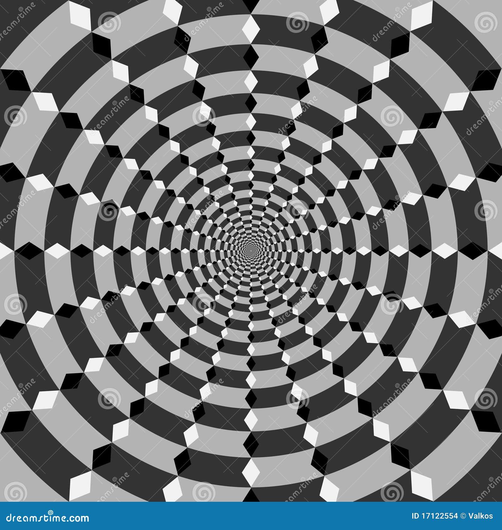 Geometric illusions background stock images image 17122554 for Geometric illusion art
