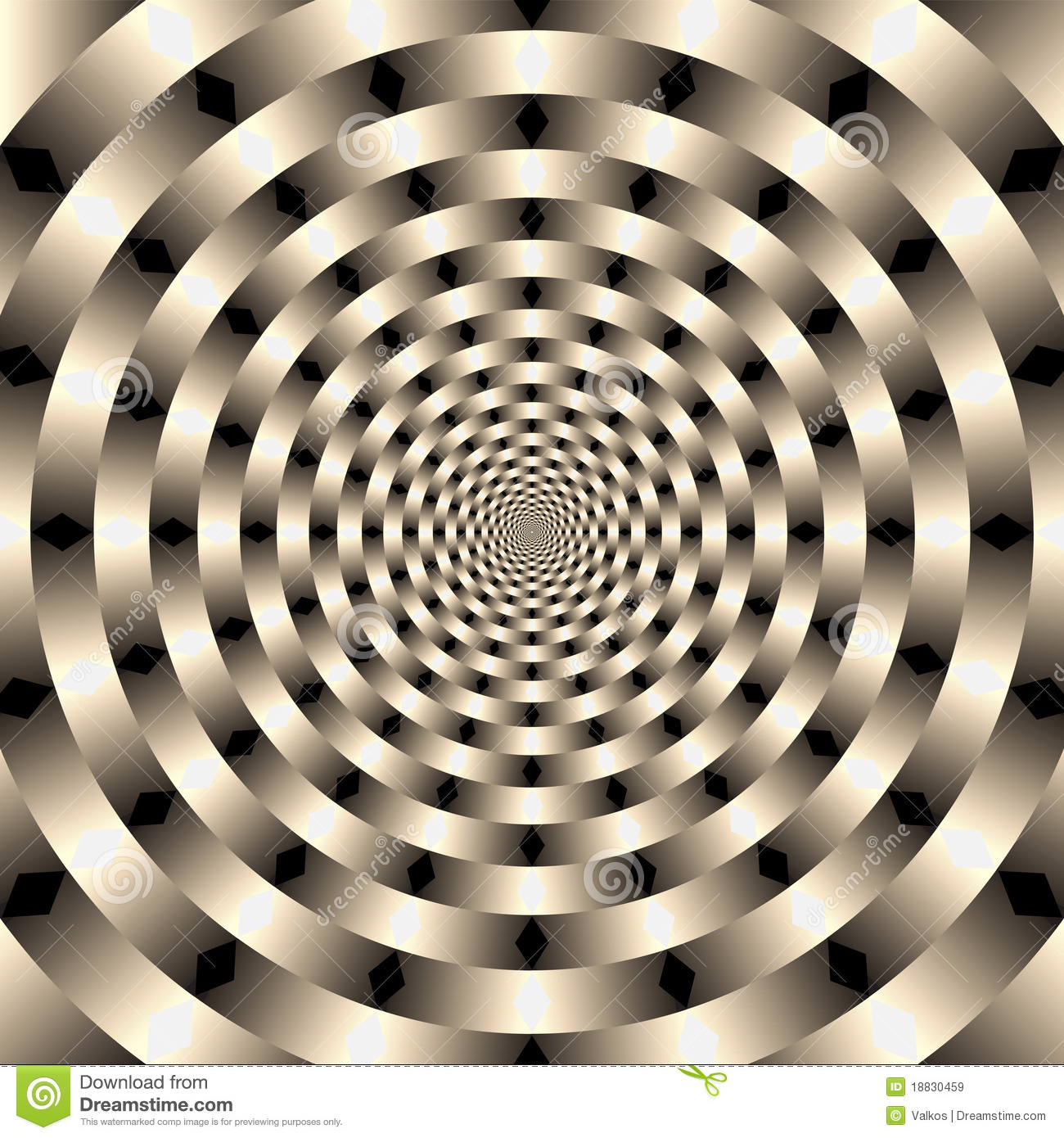 Geometric illusions background royalty free stock images for Geometric illusion art