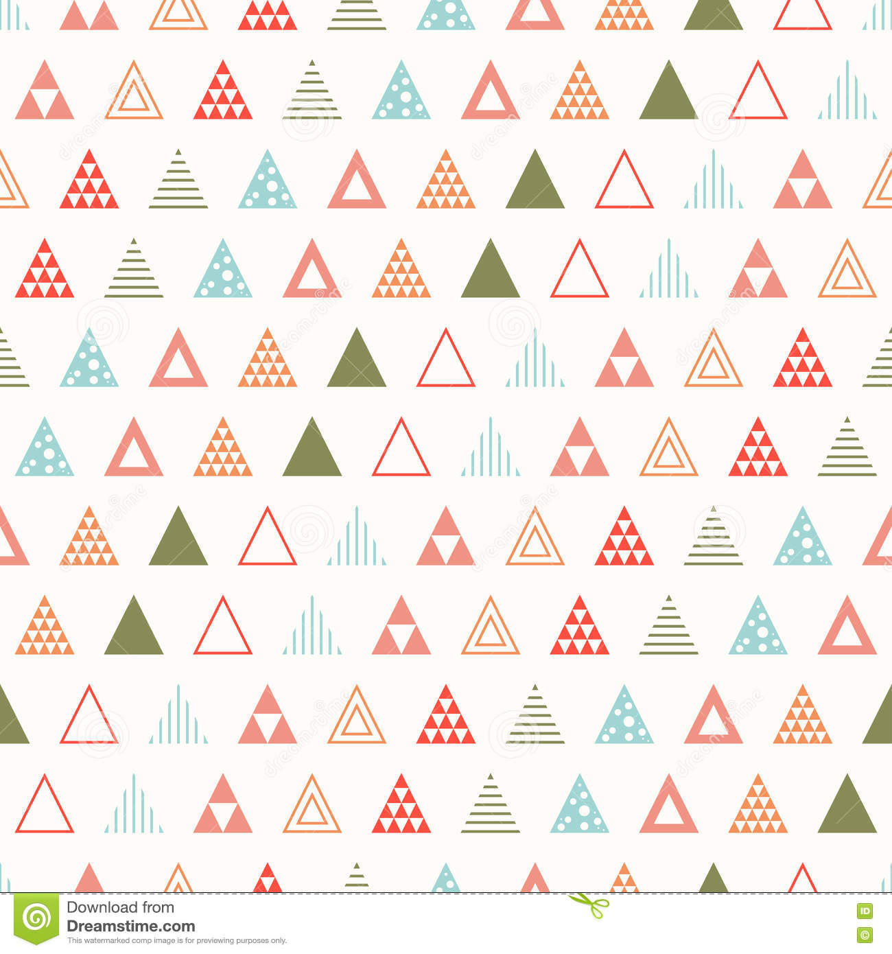 Scrapbook paper designs to print - Geometric Line Color Abstract Hipster Seamless Pattern With Triangle Wrapping Paper Scrapbook Print
