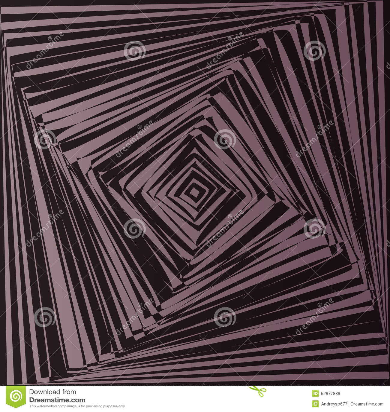 Geometric optical illusion stock vector image 52677886 for Geometric illusion art