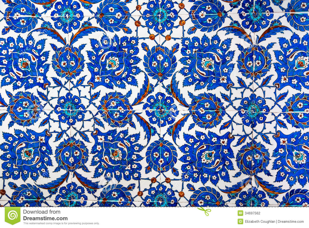 geometric ottoman pattern stock photography  image  - royaltyfree stock photo