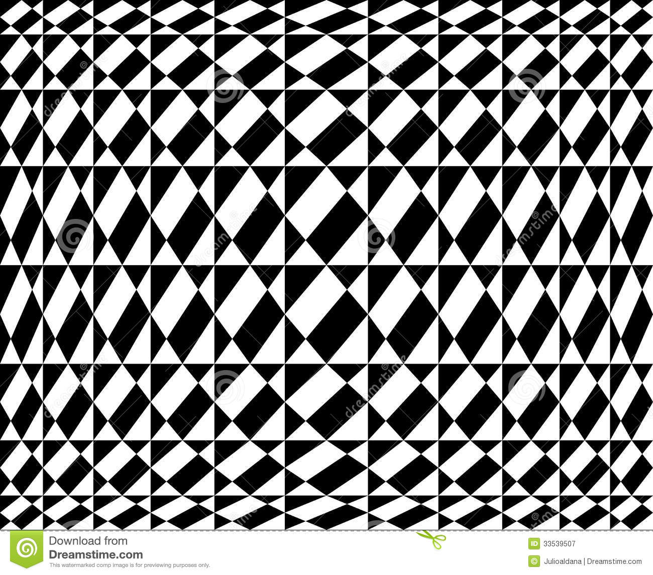 Geometric Pattern In Op Art Design - Vector Art Royalty ...