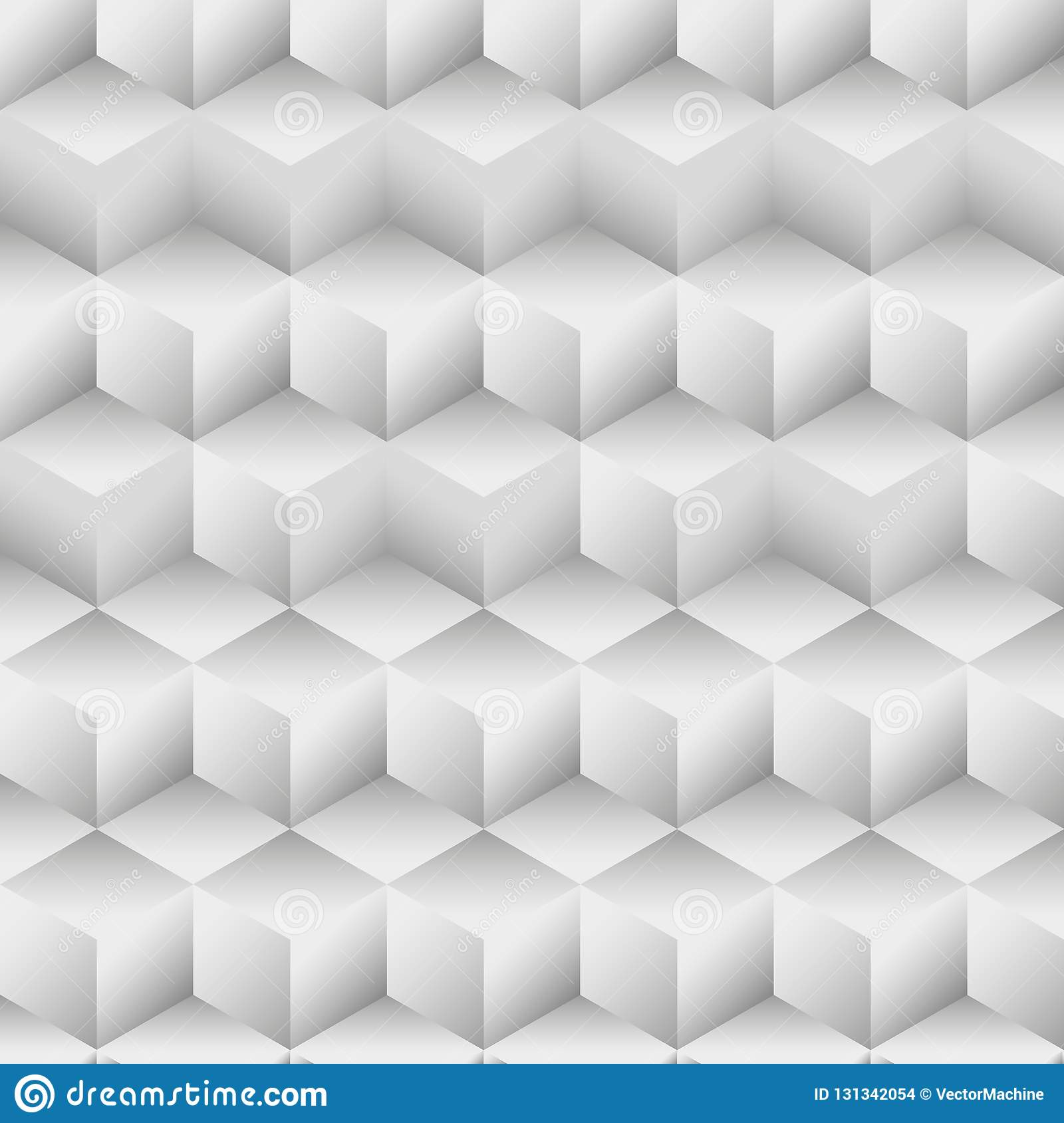 Geometric pattern, seamless white texture.