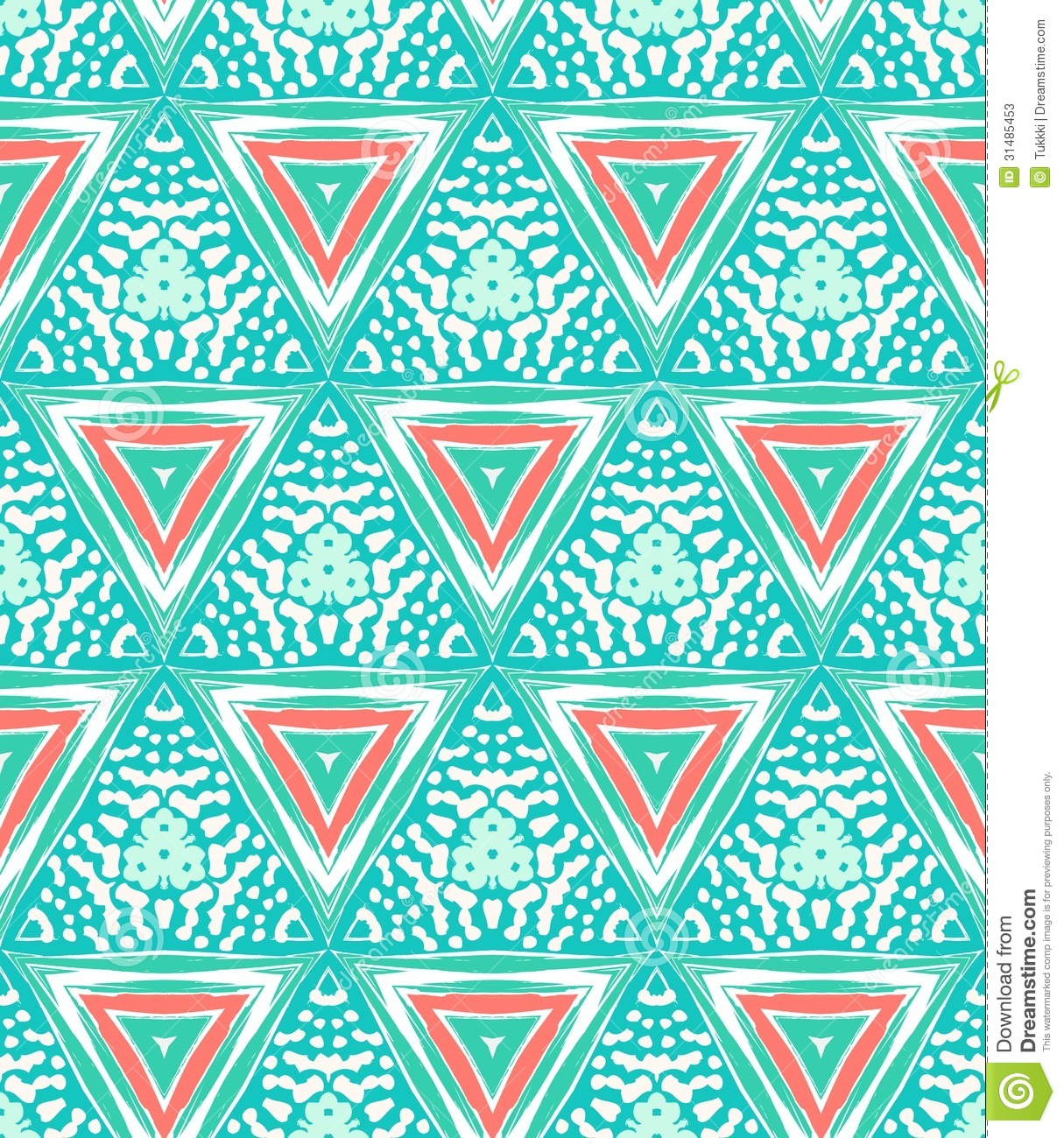 Geometric pattern with triangles and random dots stock for Wallpaper home fabrics