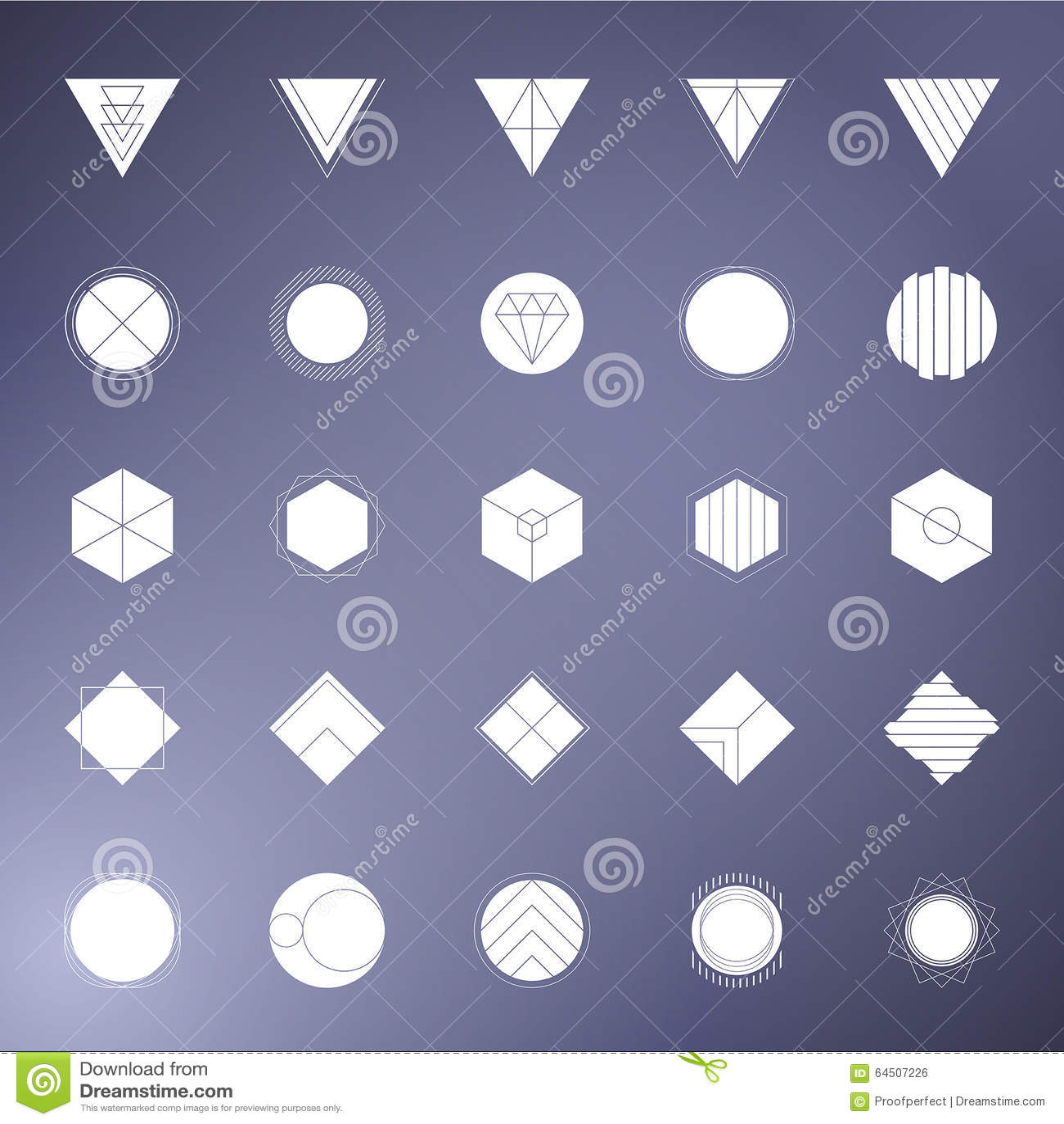 Geometric photo masks stock photo image 64507226 for Copy design
