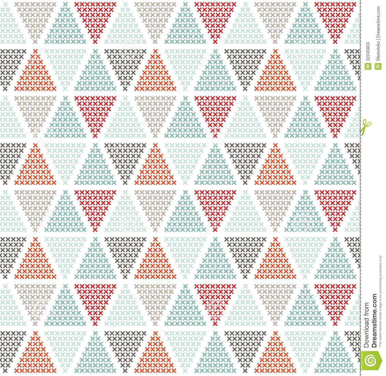 Geometric Seamless Pattern Stock Photos Image 32245803