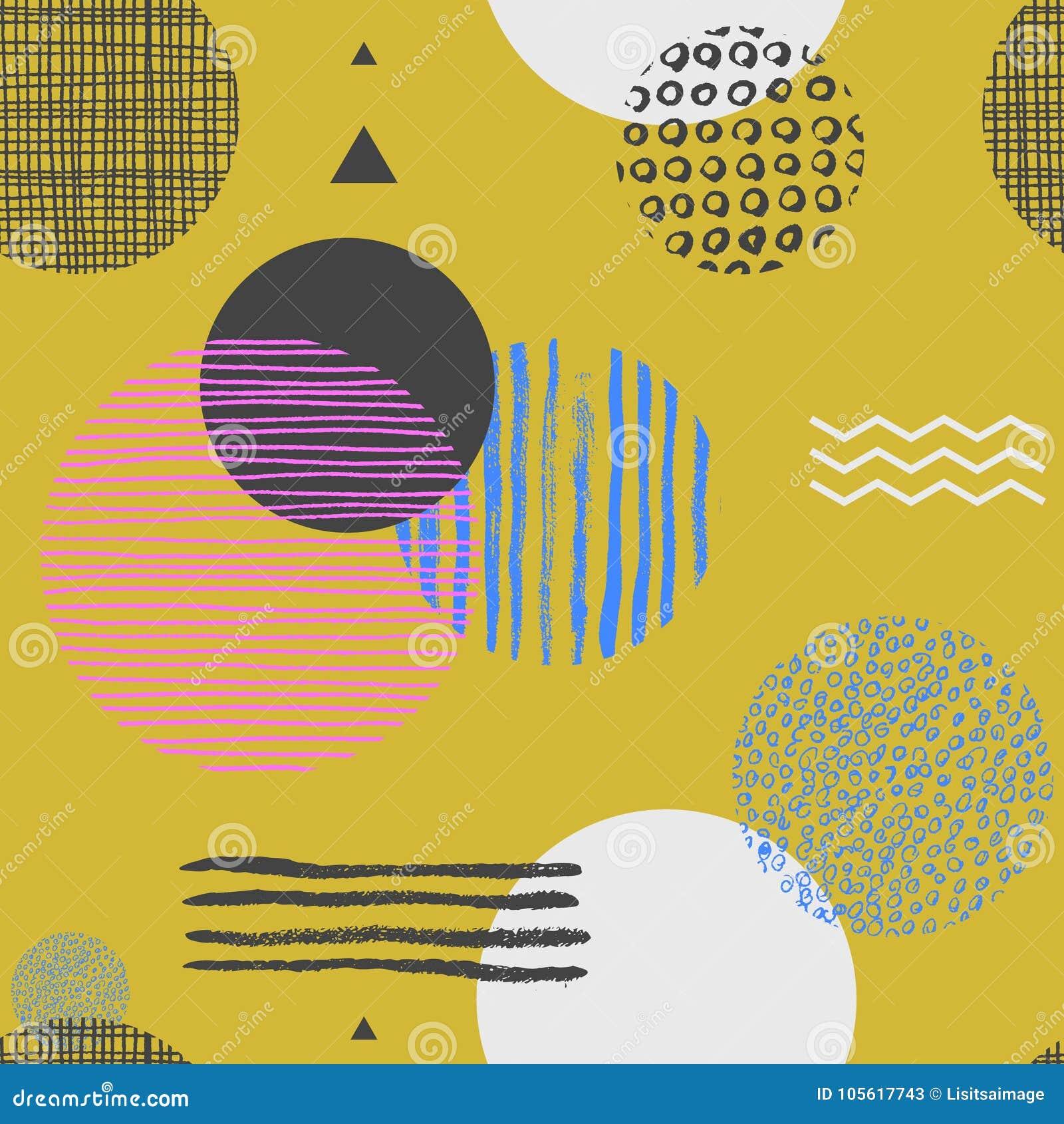 geometric yellow background illustration - photo #40