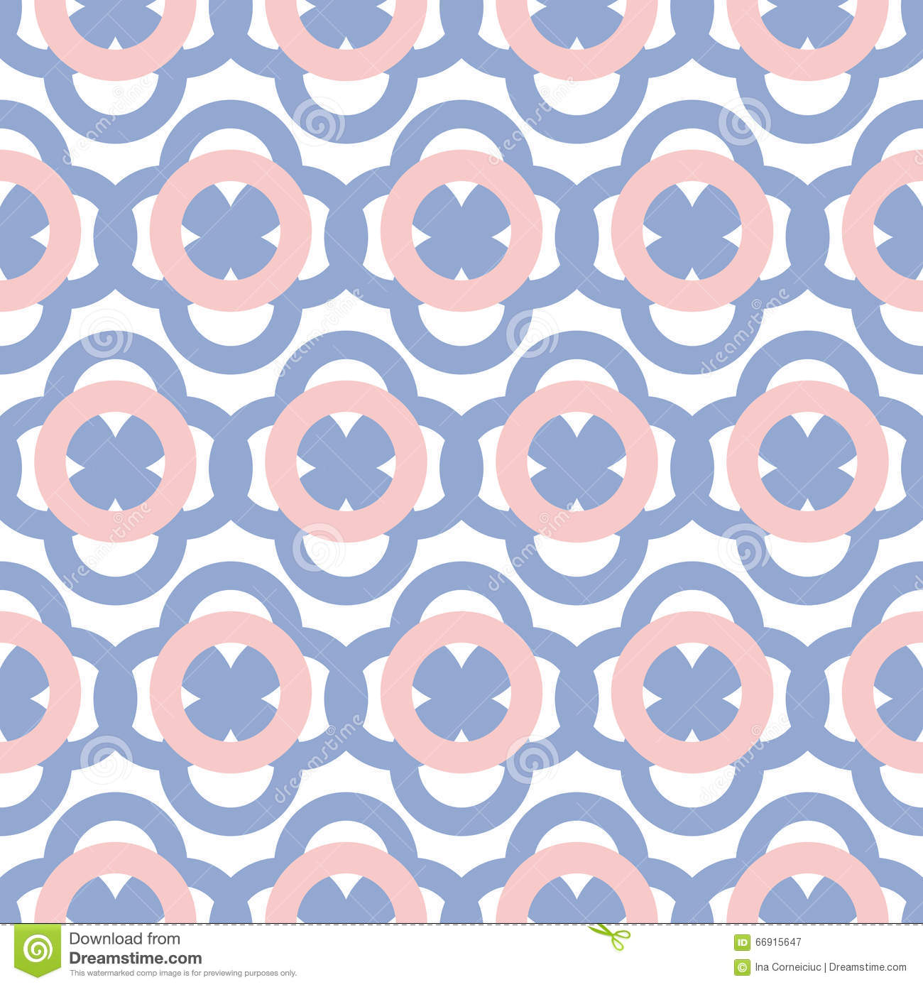 Color Of The Year 2016: Geometric Seamless Pattern In Pantone Color Of The Year