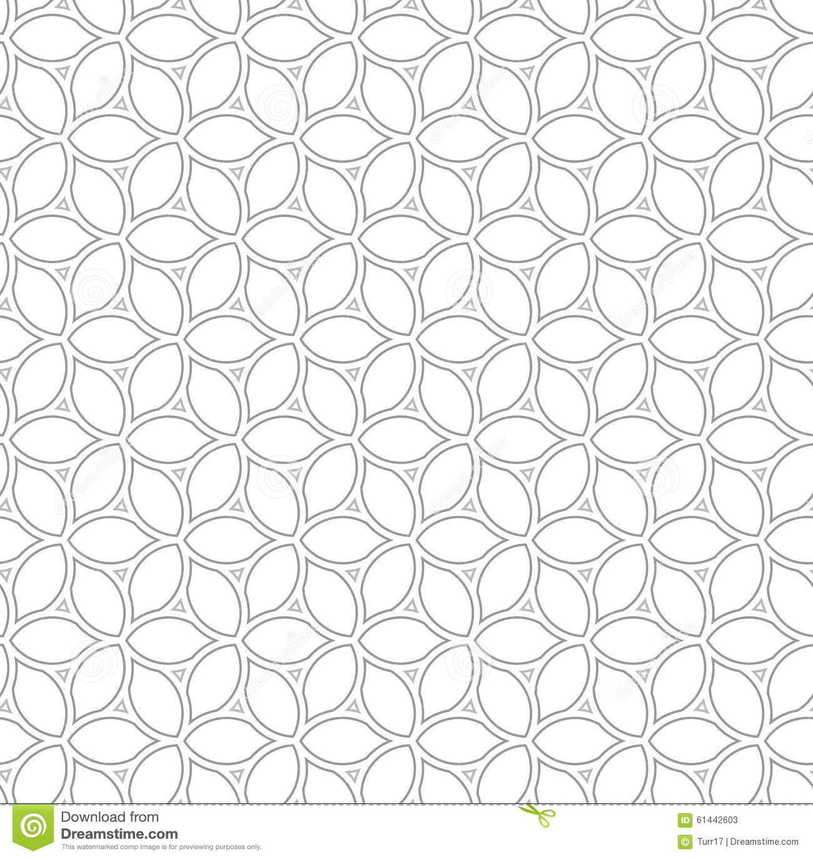 geometric seamless vector pattern stock vector