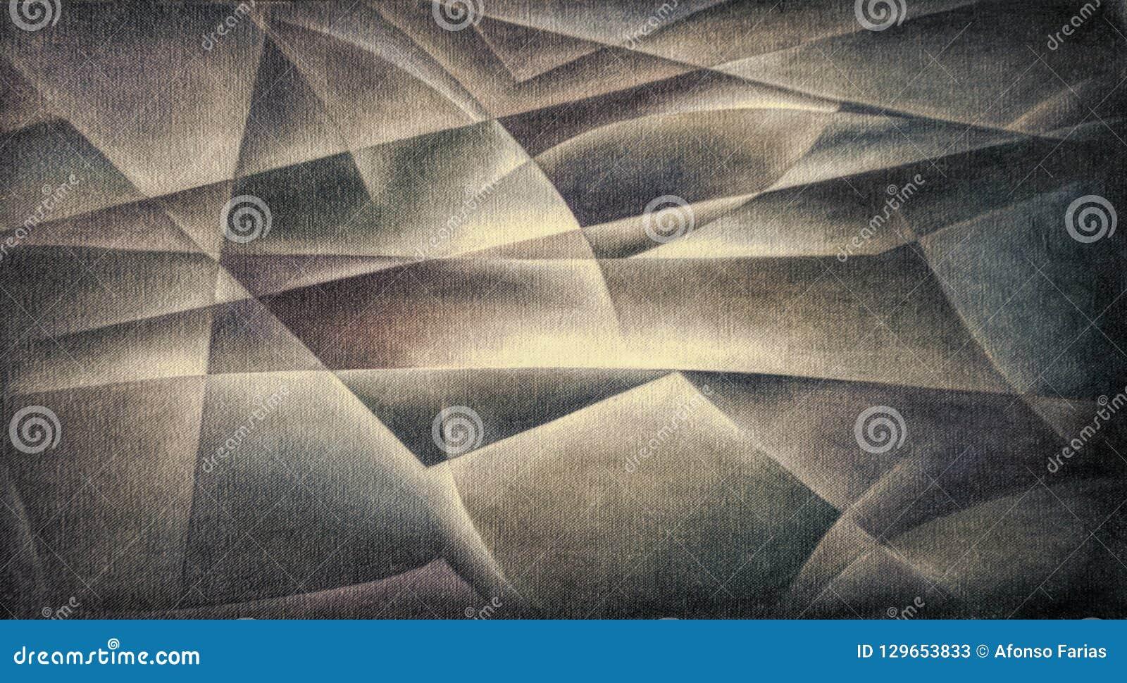 Geometric Shapes Dark Colours