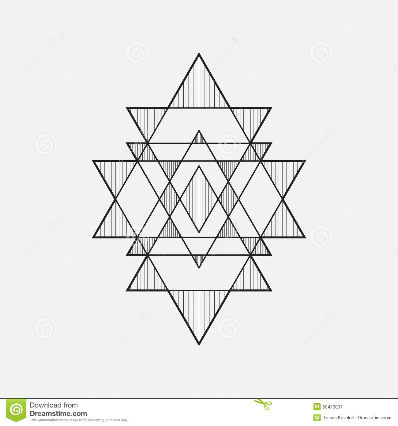 3d Shape Line Drawings : Geometric shapes stock vector illustration of connection