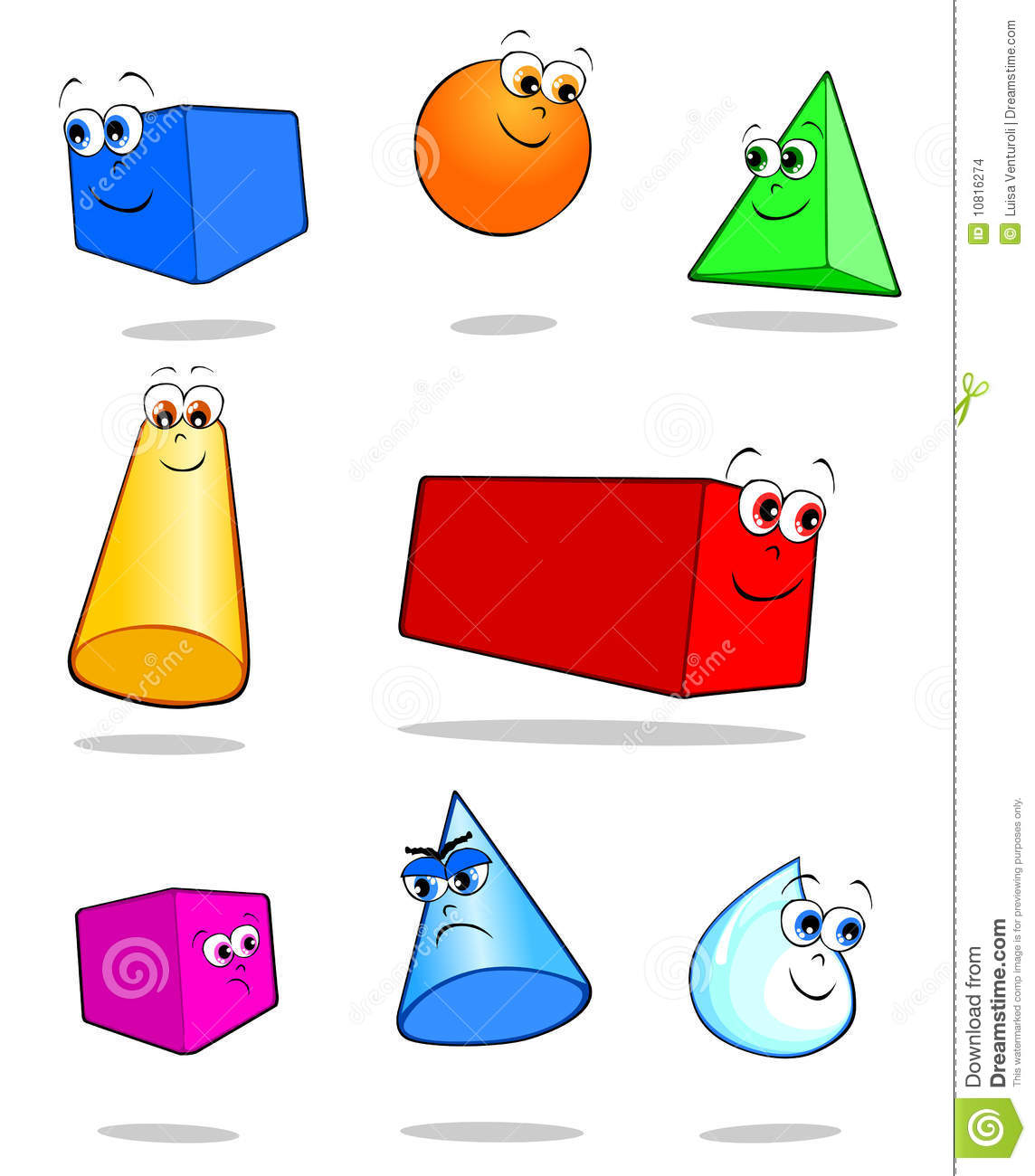Geometric Solids Stock Images