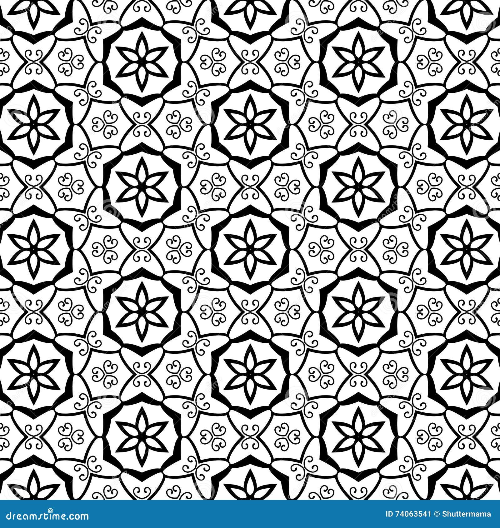 geometric stars ornate swirls flourishes celtic tribal