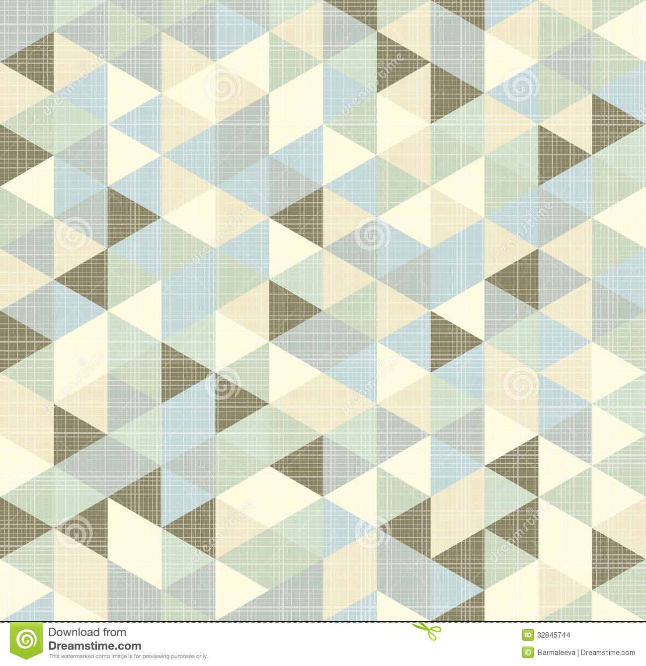 Geometric Triangles Pattern With Stripes Stock Images ...