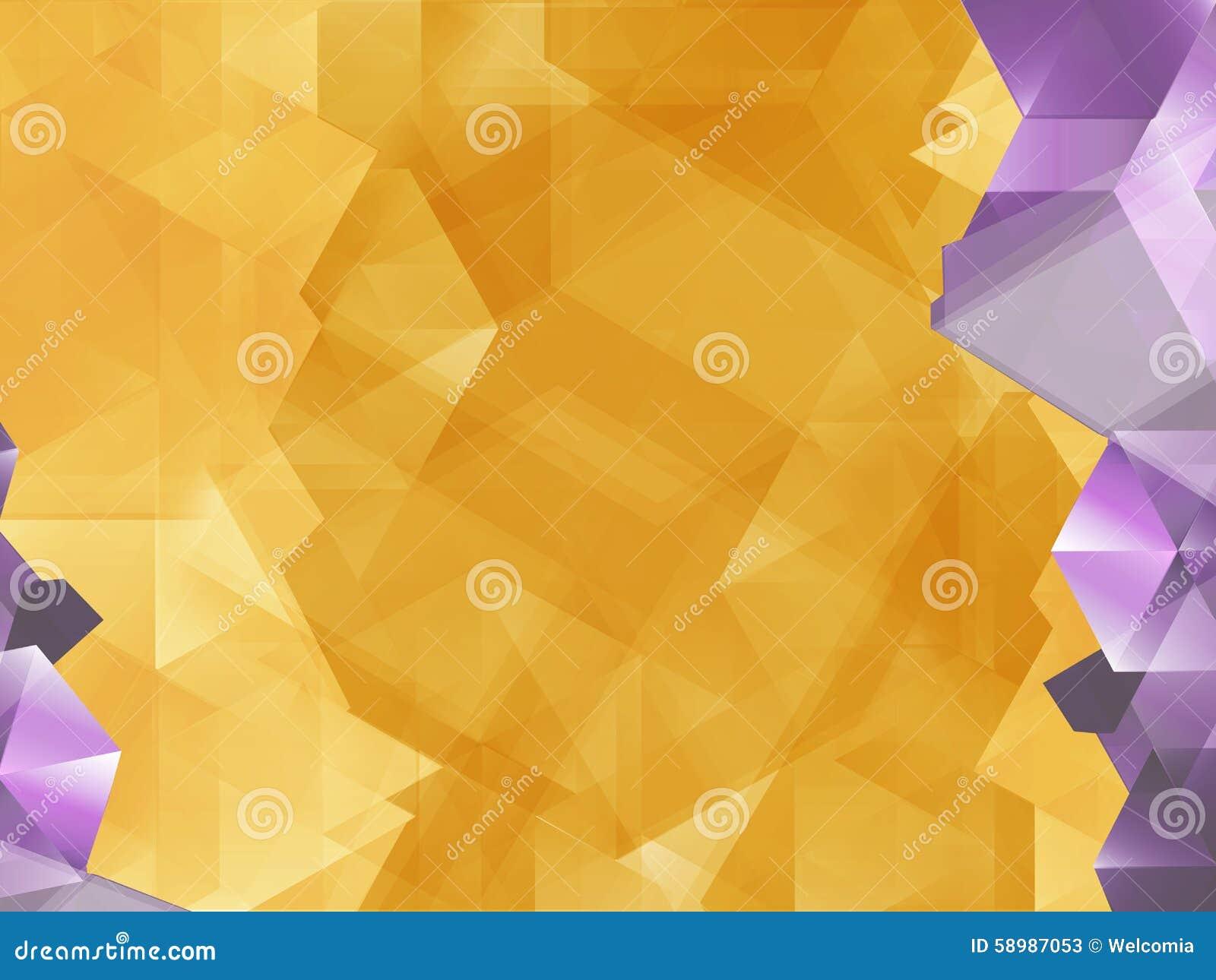 geometric yellow background illustration - photo #3