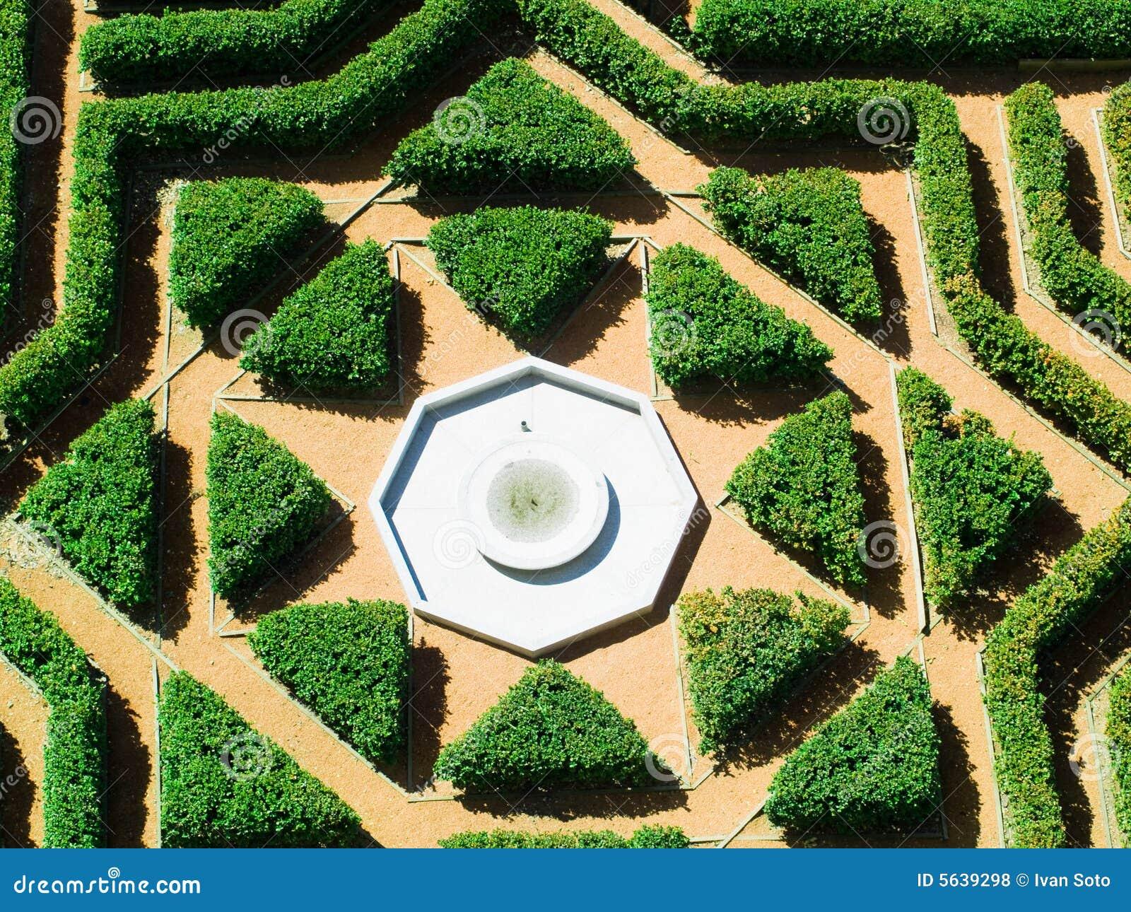 Geometrical Garden Royalty Free Stock Photos Image 5639298