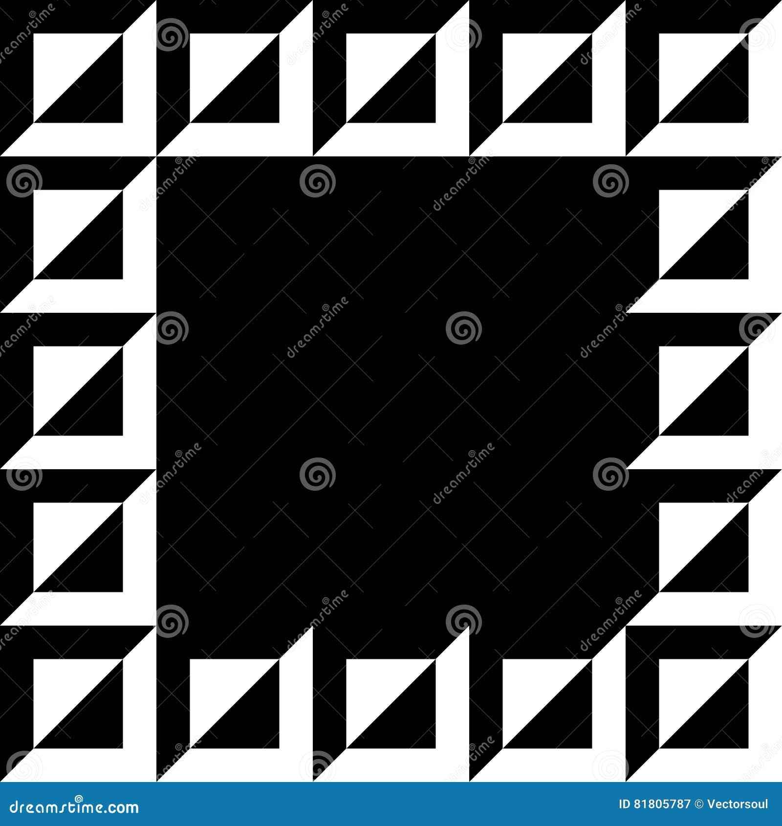 Geometrisch beeld, fotokader in squarishformaat