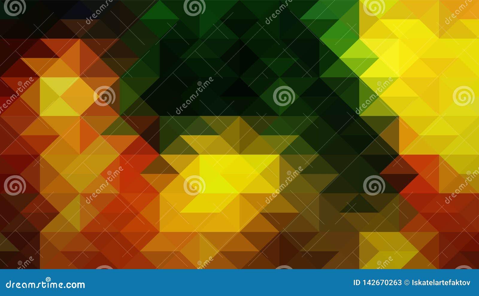 Geometrisch ontwerp, Mozaïek, abstract Mozaïek als achtergrond, Patroon voor bedrijfsadvertentie, boekjes, pamfletten