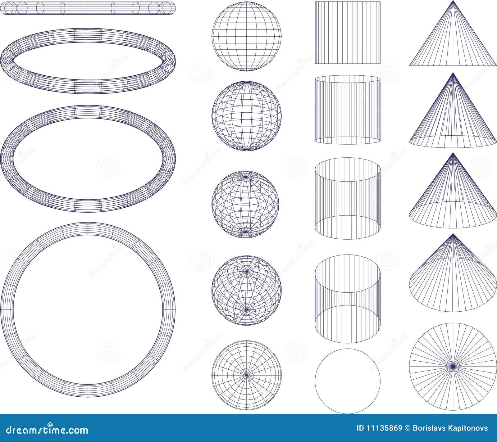 geometrische abbildungen lizenzfreie stockbilder bild 11135869. Black Bedroom Furniture Sets. Home Design Ideas