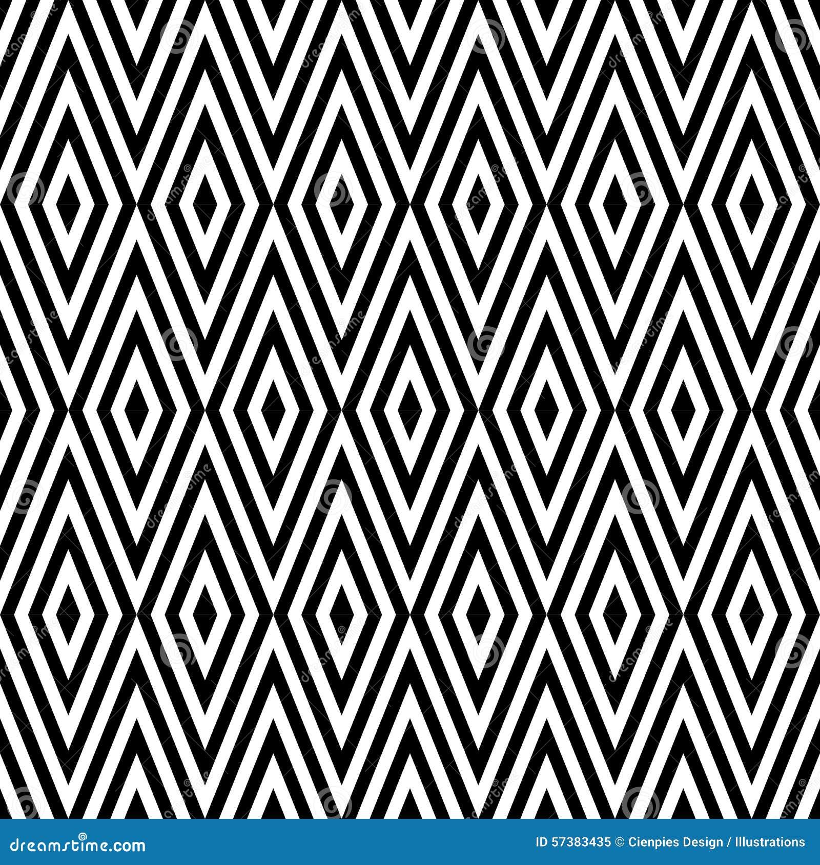 Geometrische abstracte retro naadloze patroonachtergrond