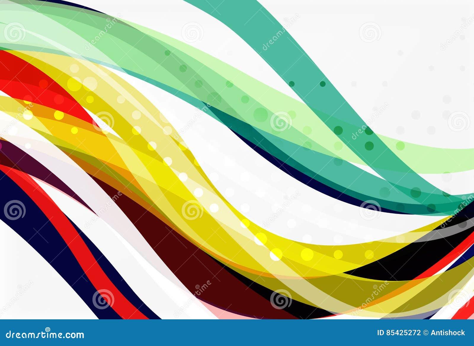 Geometrische Ausflussrohre abstrakter Hintergrund des Vektors
