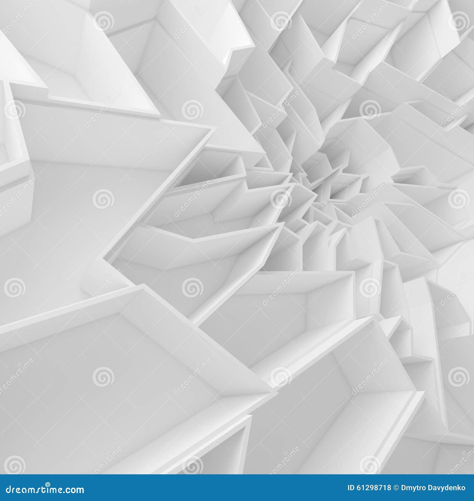 Geometrische Farbzusammenfassungspolygone tapezieren, als Sprungswand
