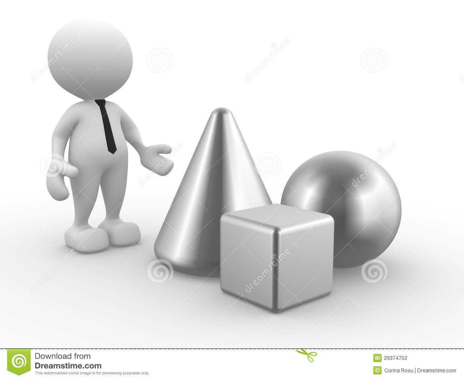 geometrische formen stockfotografie bild 29374752. Black Bedroom Furniture Sets. Home Design Ideas