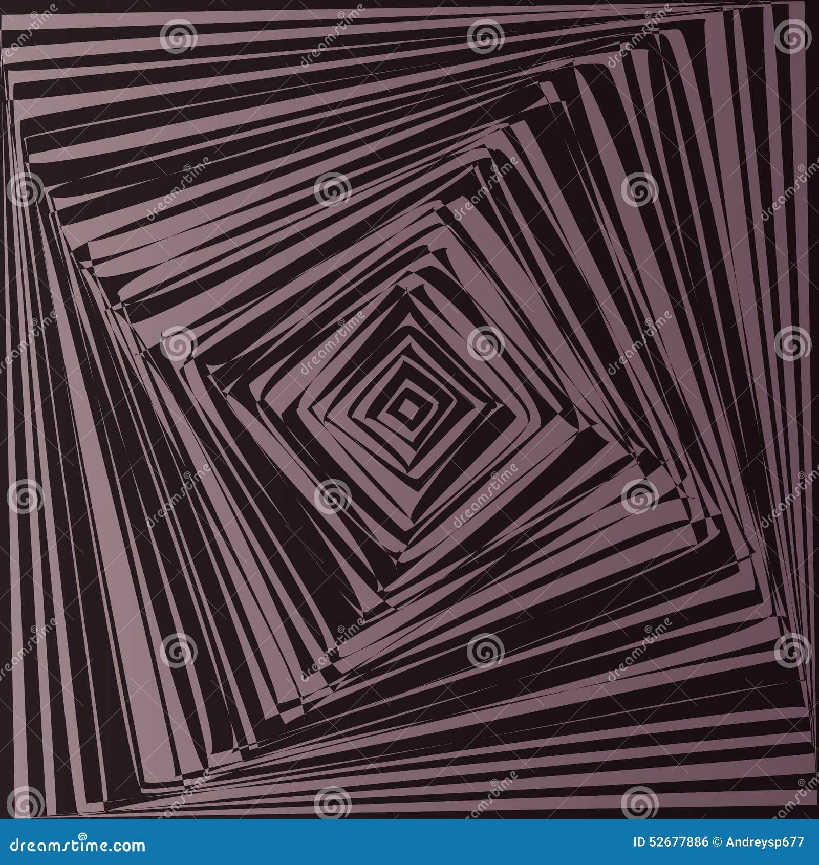 Geometrische Optische Täuschung Vektor Abbildung  Bild