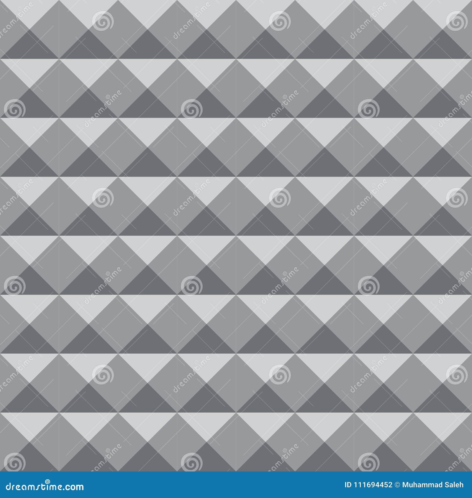 Geometrische patroonachtergrond met grijze kleur voor ontwerp of achtergronddoeleinden