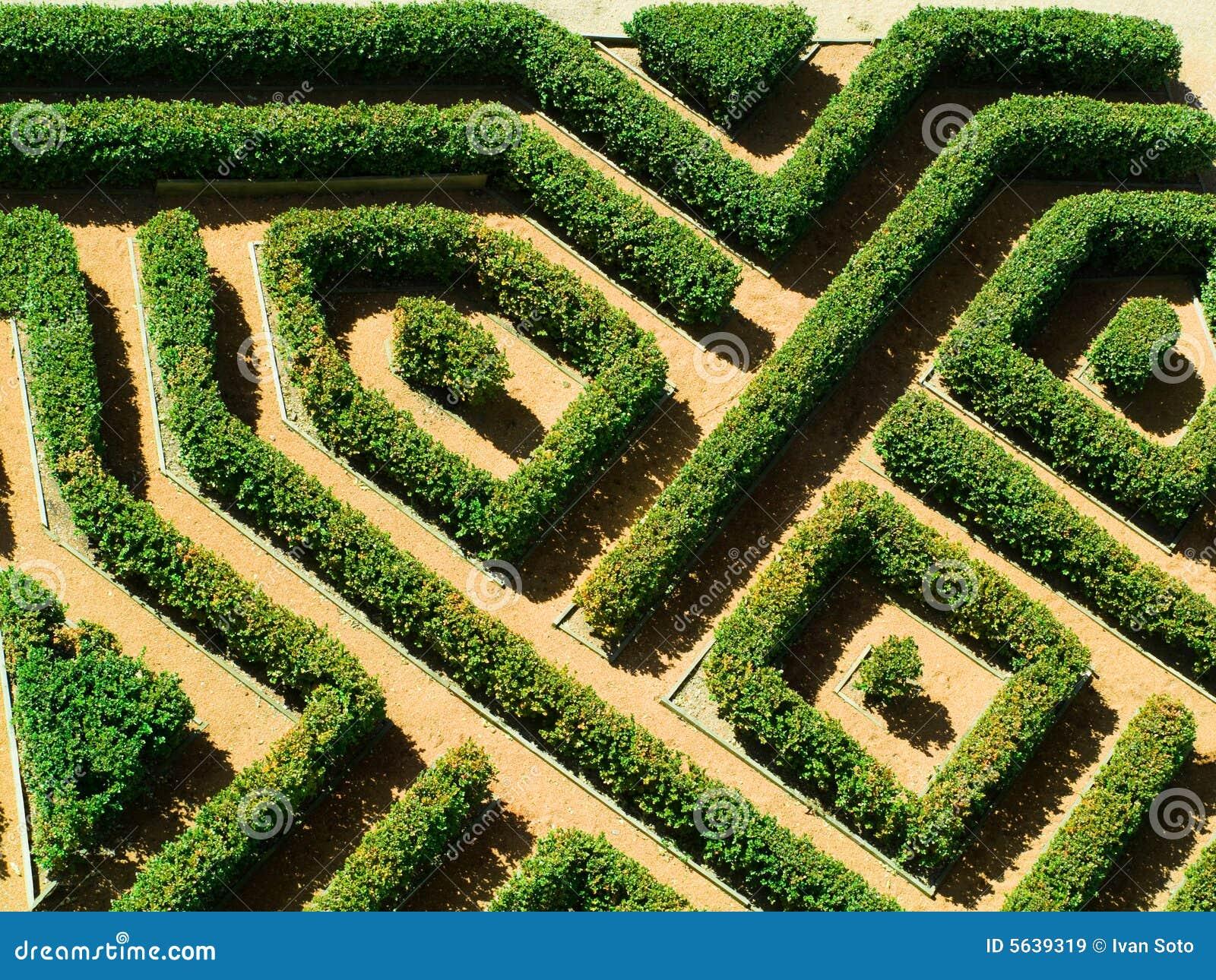 Geometrische tuin stock afbeelding afbeelding bestaande for Jardin geometrico