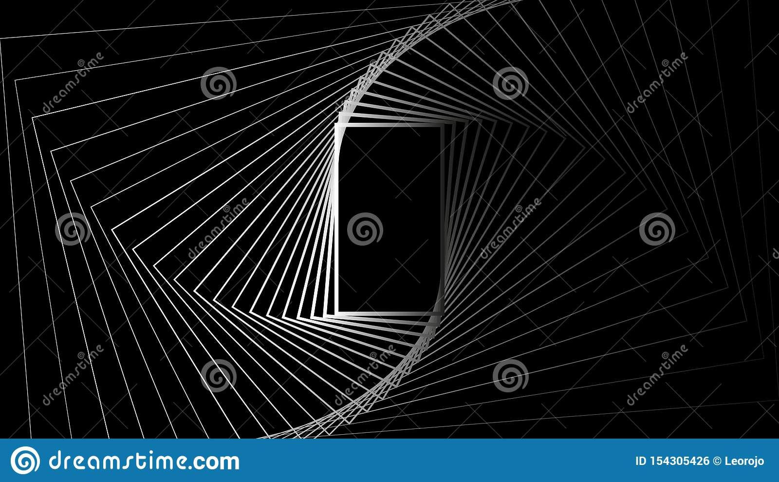 Geometrische van de achtergrond vormrechthoek abstracte geheime vectorontwerpillustratie