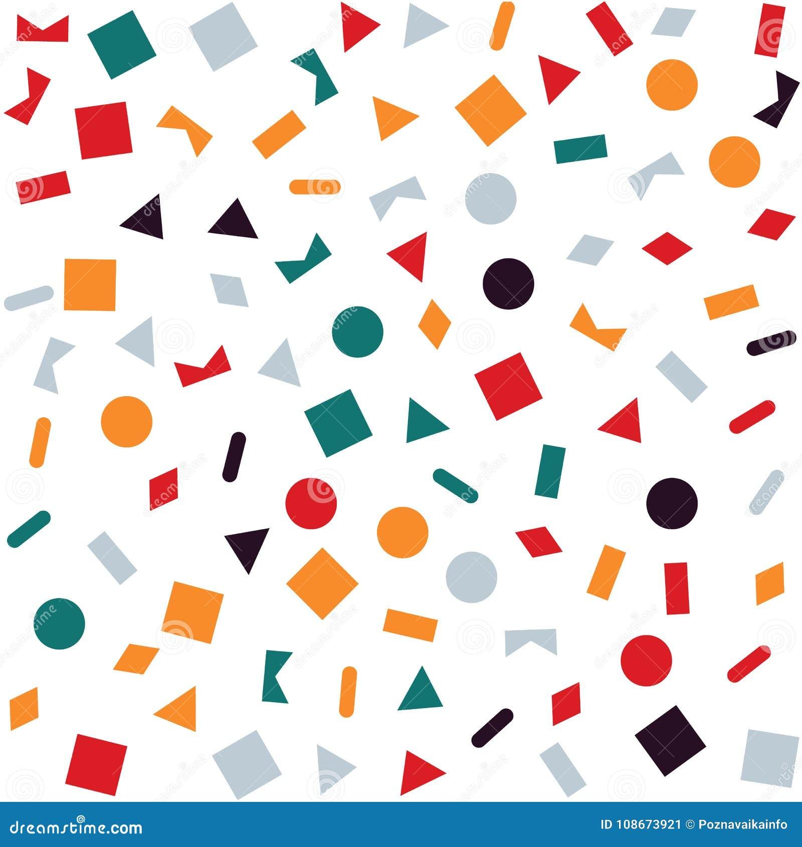 Geometrischer Abstrakter Hintergrund Geometrisches Muster Formen