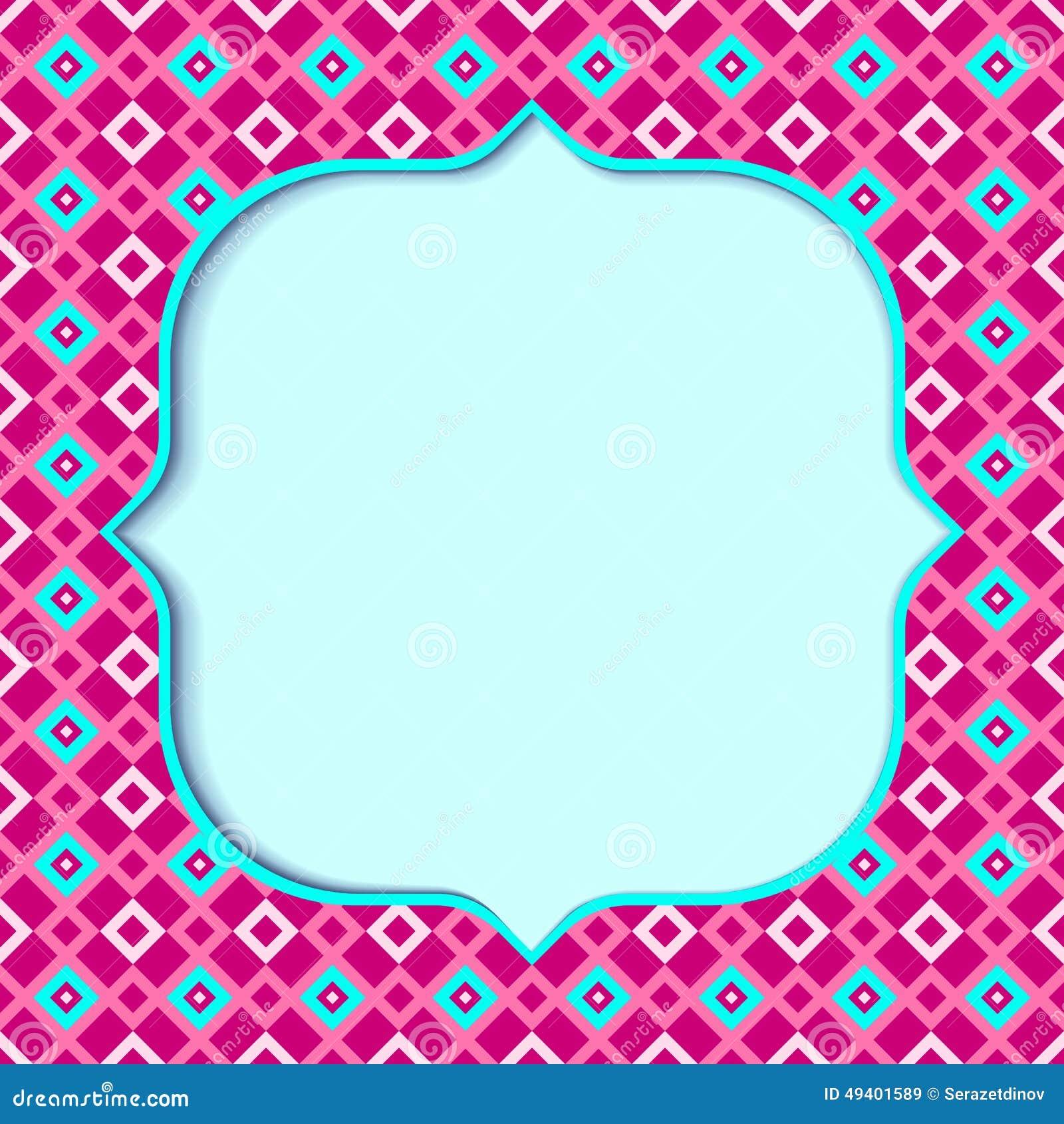 Download Geometrischer Hintergrund vektor abbildung. Illustration von blau - 49401589