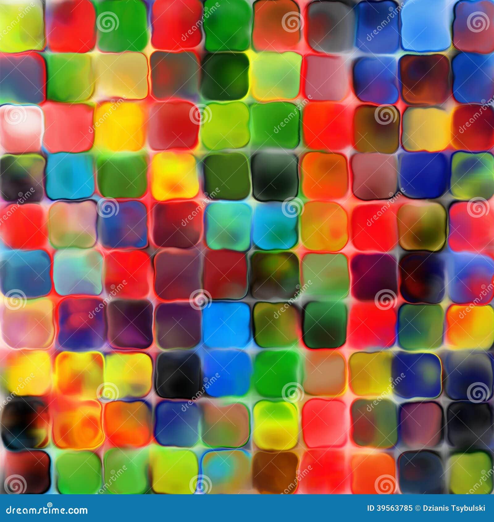 Download Geometrischer Hintergrund Pallette Abstrakte Des Regenbogens Bunte  Farbe Der Fliesen Mozaic Stock Abbildung   Illustration