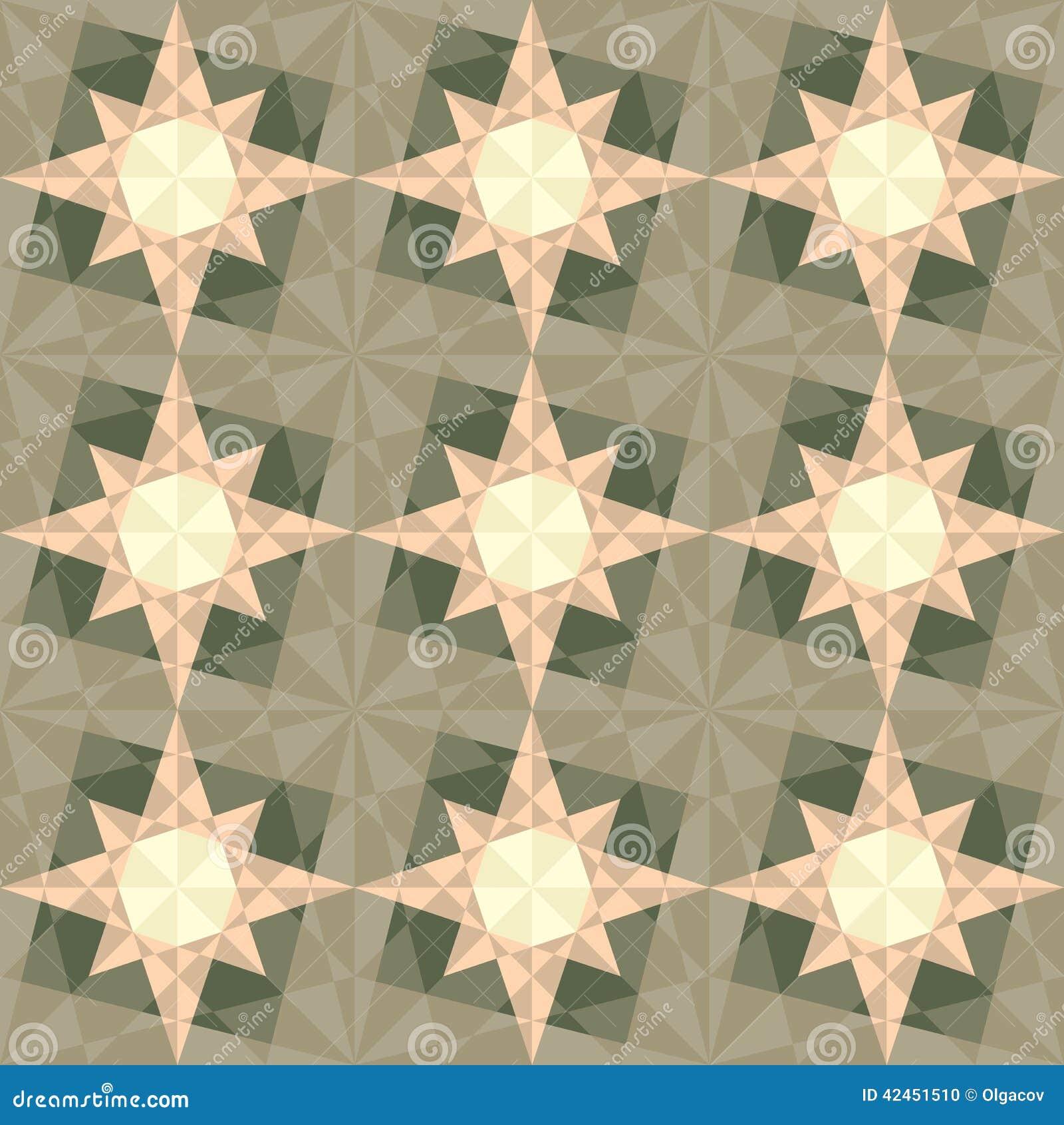 Geometrisches Muster des nahtlosen Sets