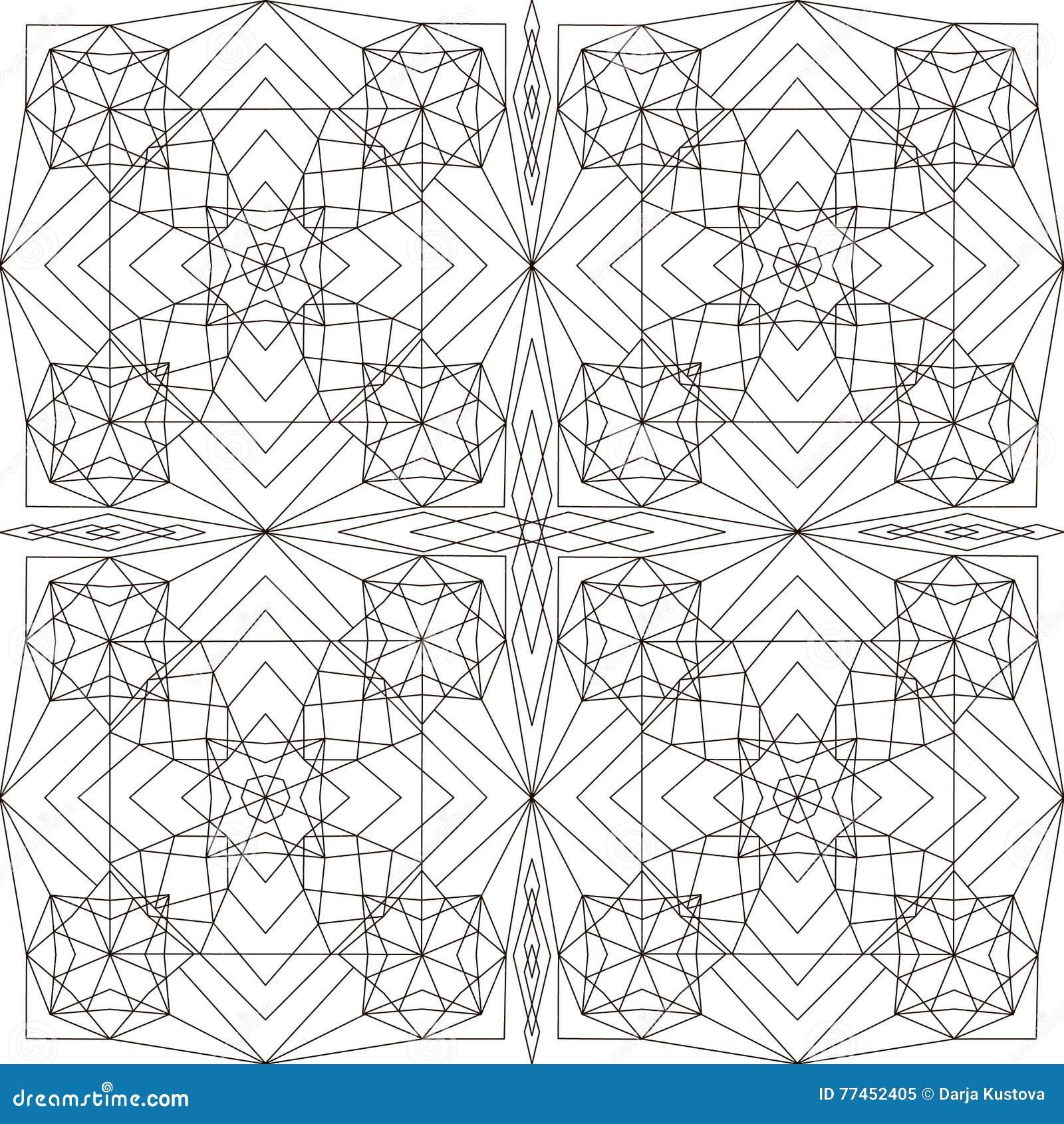 Ziemlich Frei Druckbare Geometrische Malvorlagen Bilder ...