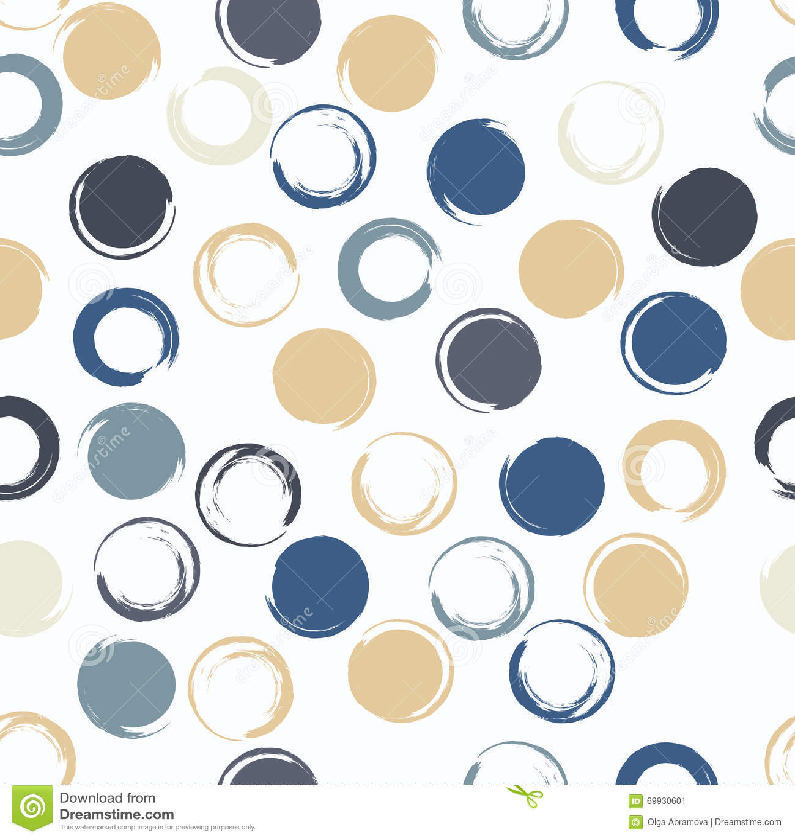 Geometrisches nahtloses Muster des netten Vektors Bürstenanschläge, Tupfen Hand gezeichnete Schmutzbeschaffenheit Abstrakte Formu