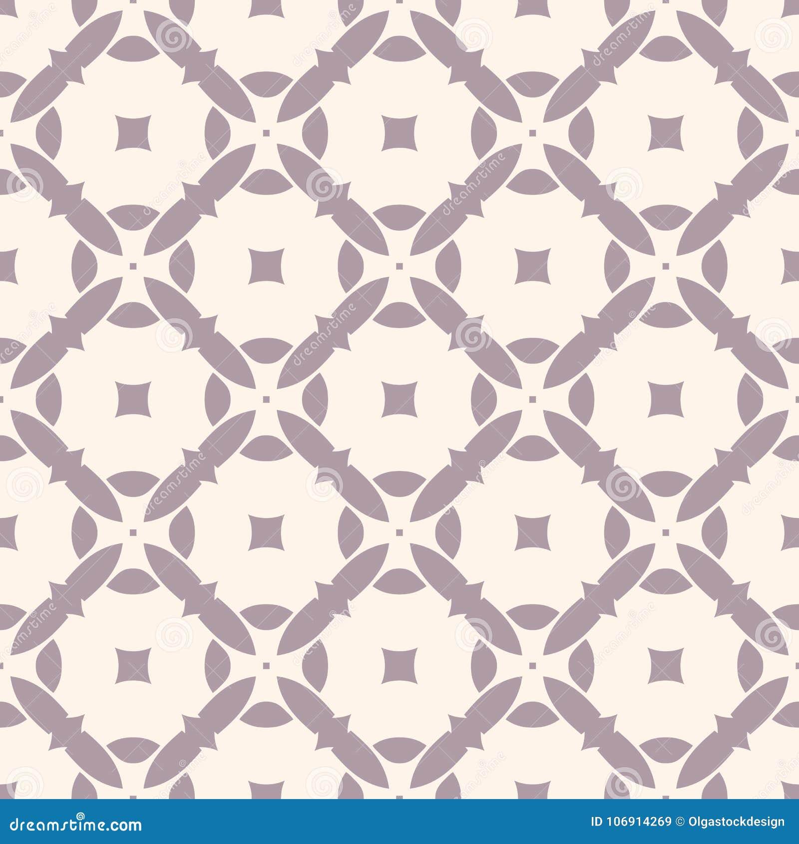 Geometrisches nahtloses Muster des Vektors mit Mosaikfliesen latten