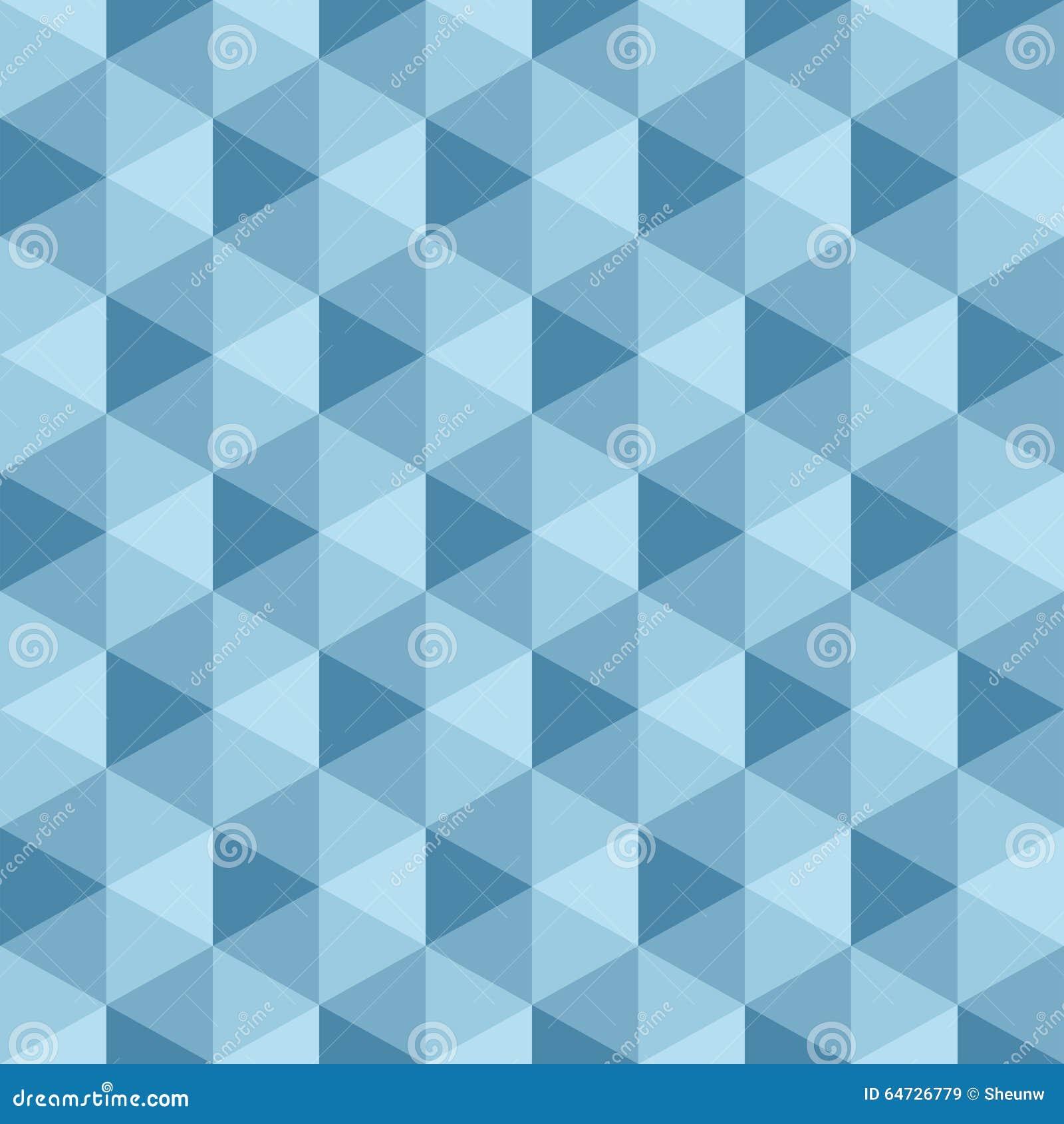 Geometrisches nahtloses Muster, Vektorhintergrund