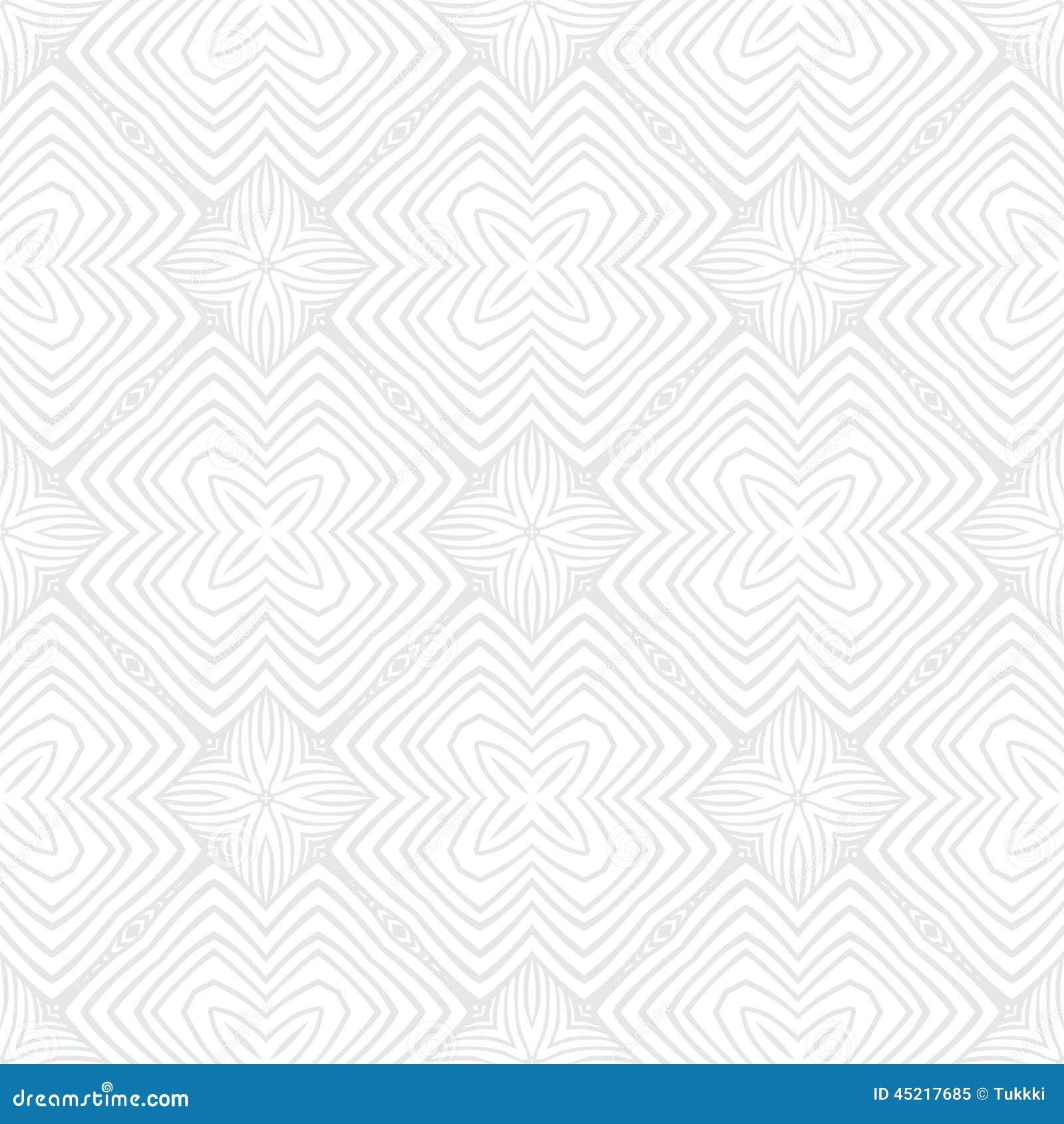 Geometrisk textur för vit tappning i art décostil