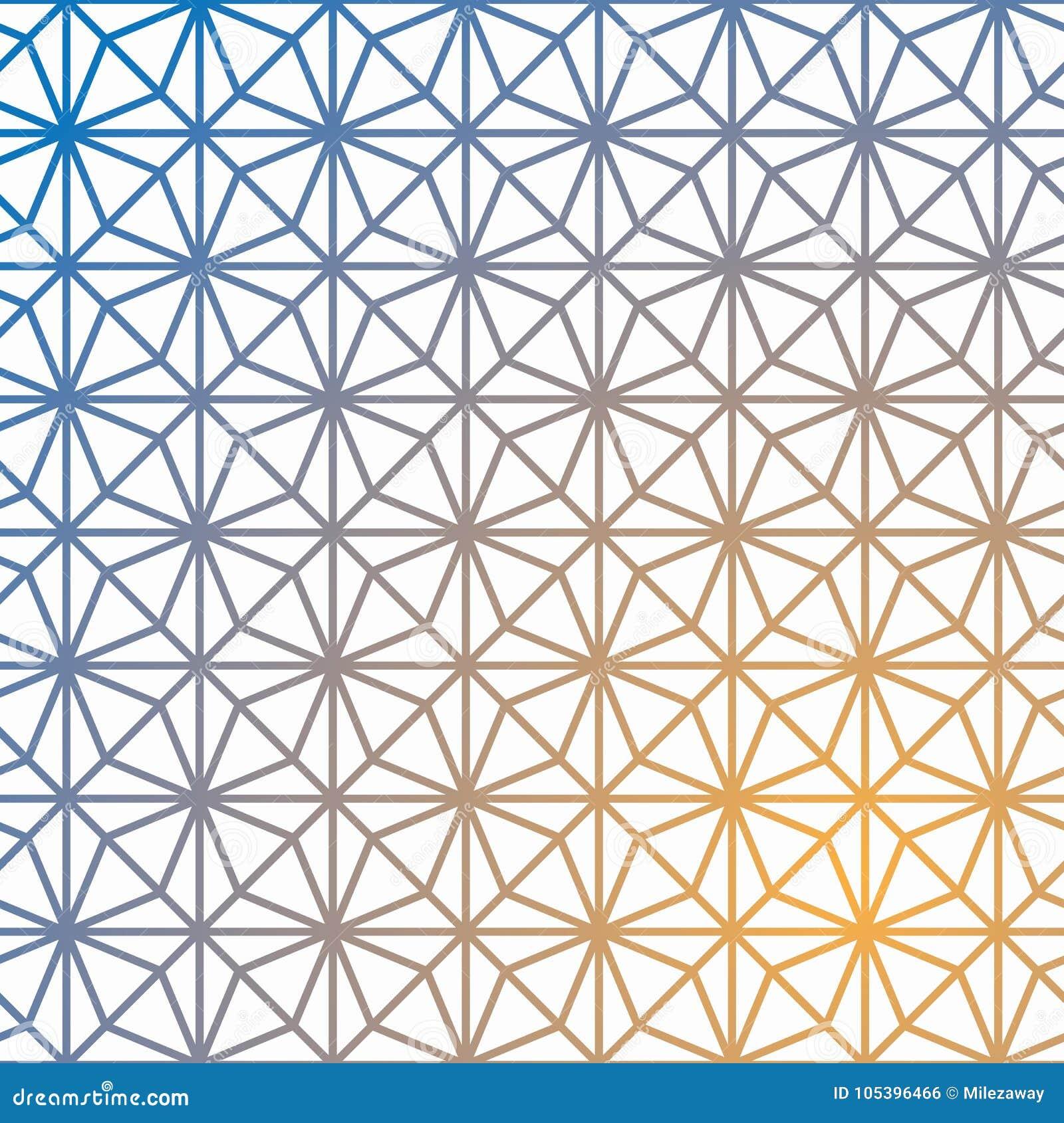 Geometrisk vektormodell för raster Geometrisk kub, stjärnaeffekt