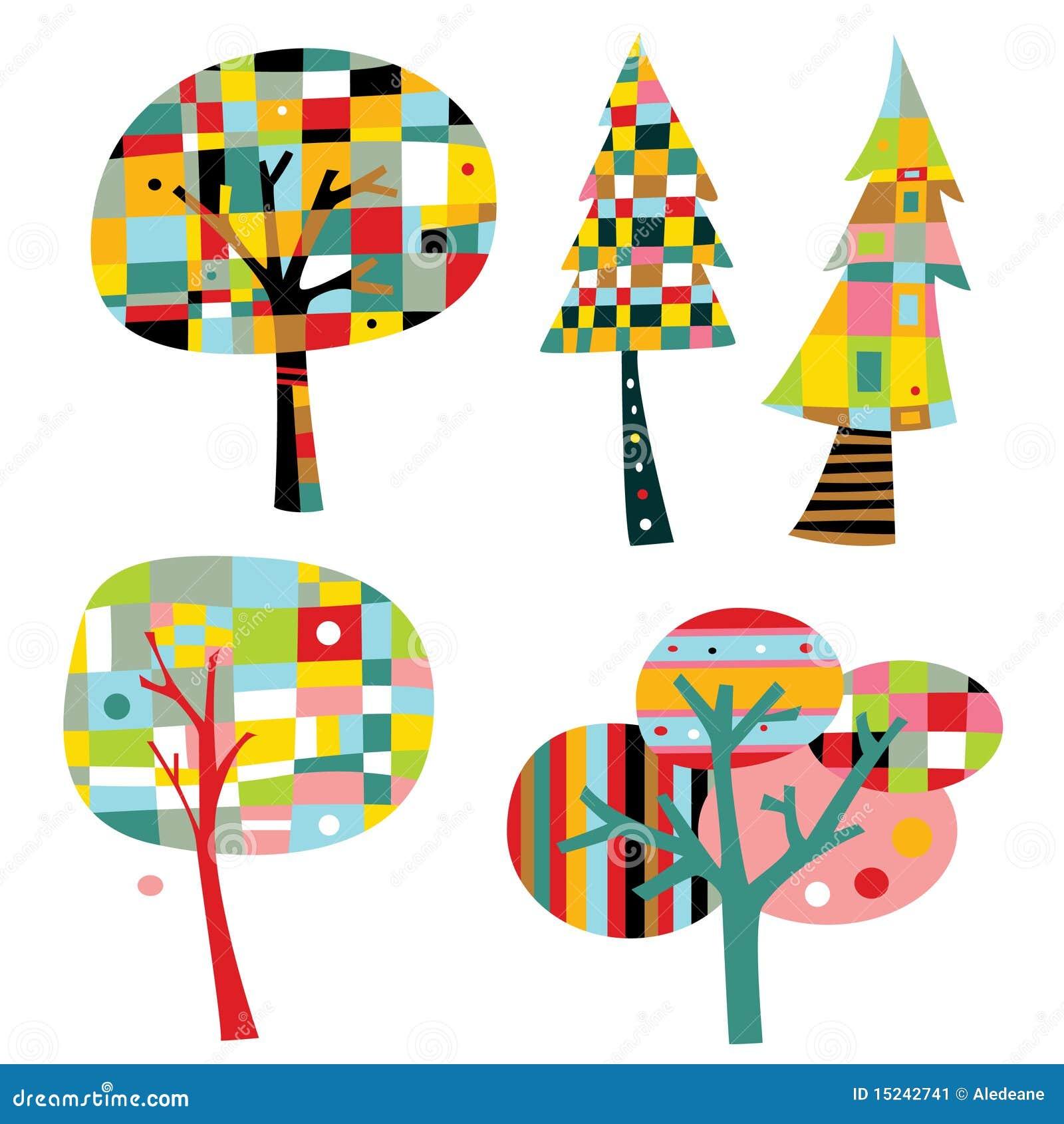 Geometriska trees för samling