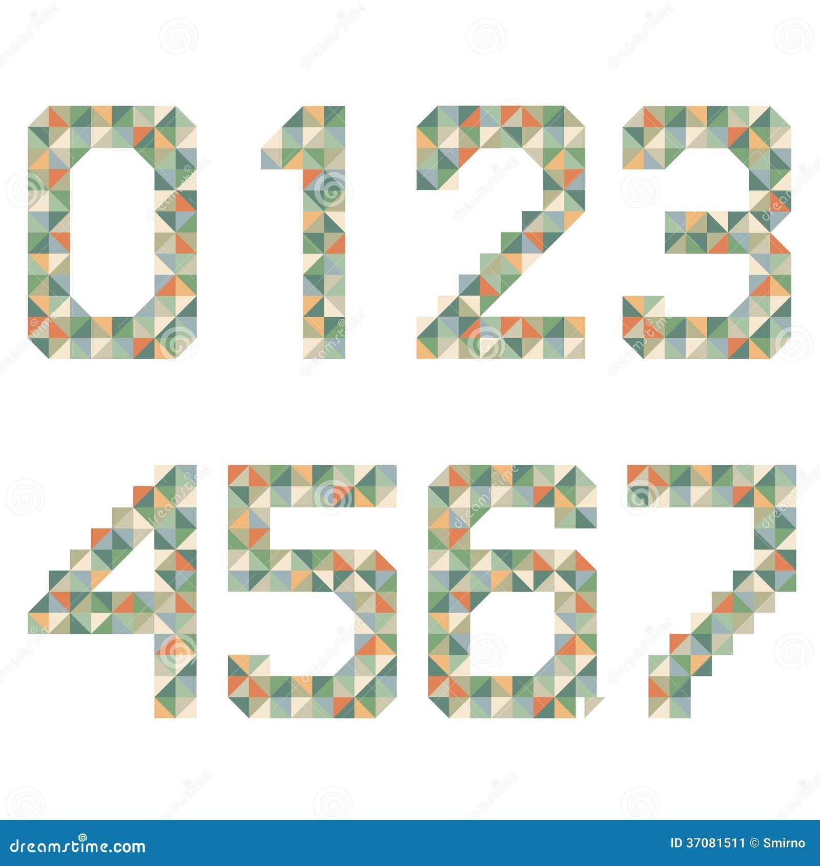 Download Geometryczna Stylowa Chrzcielnica, Kolorowi Wektorów Listy. Ilustracja Wektor - Ilustracja złożonej z kreatywnie, tekst: 37081511