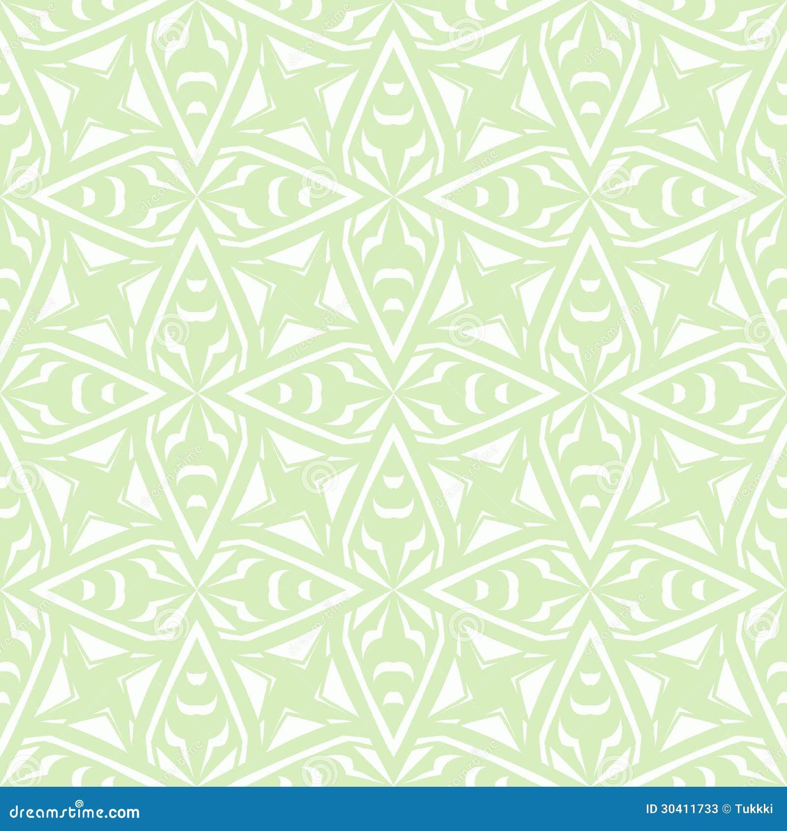 Geometryczny art deco rocznika wzór w bielu