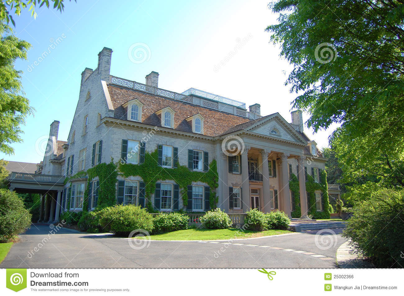 George Eastman House Rochester Stock Photo