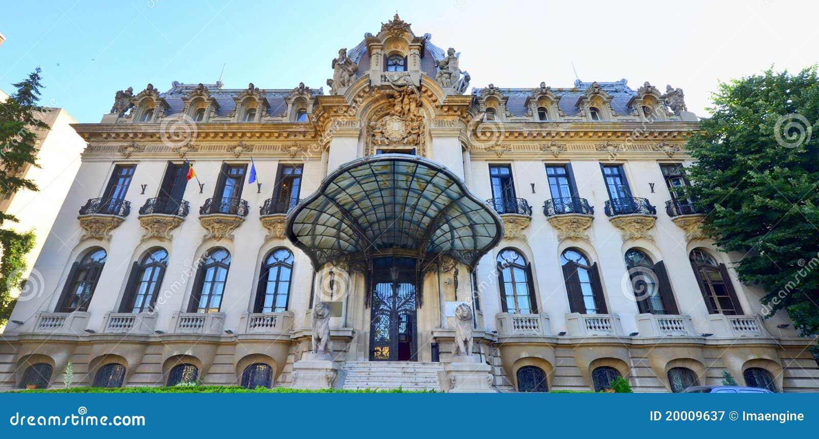 George Enescu museum in Bucharest, Romania