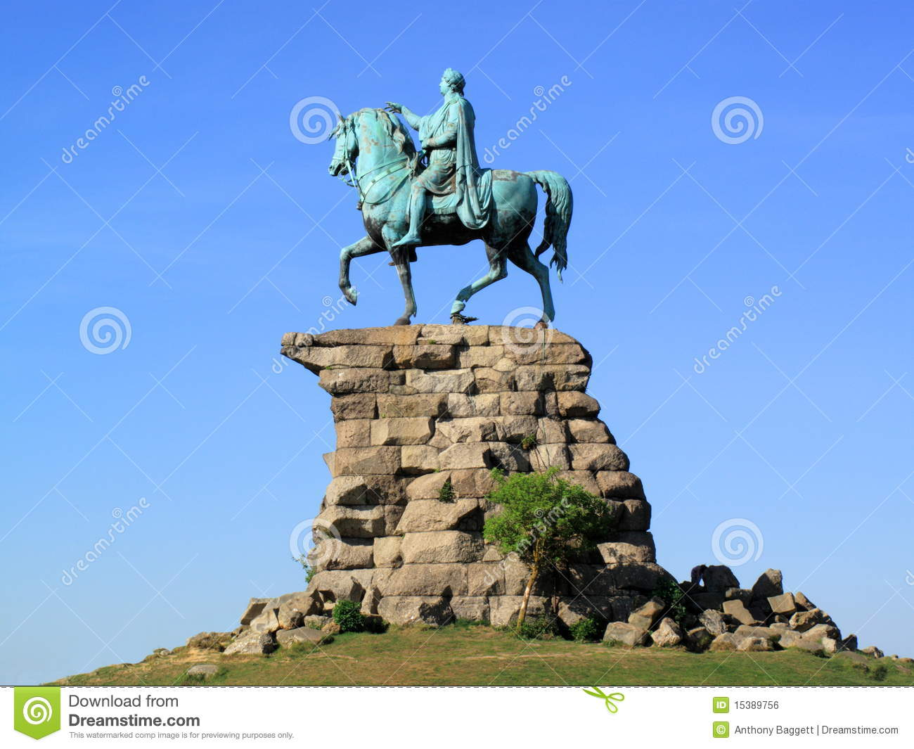 George Iii Copper Horse Statue Windsor Castle Royalty