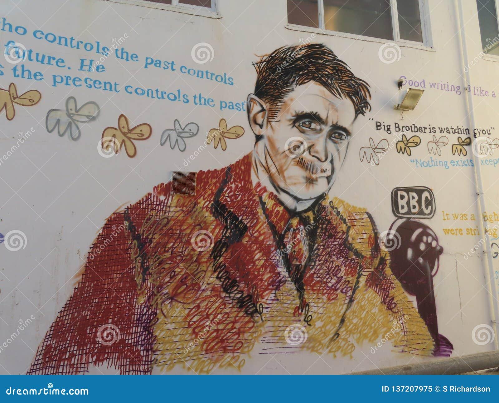 George Orwell Wall