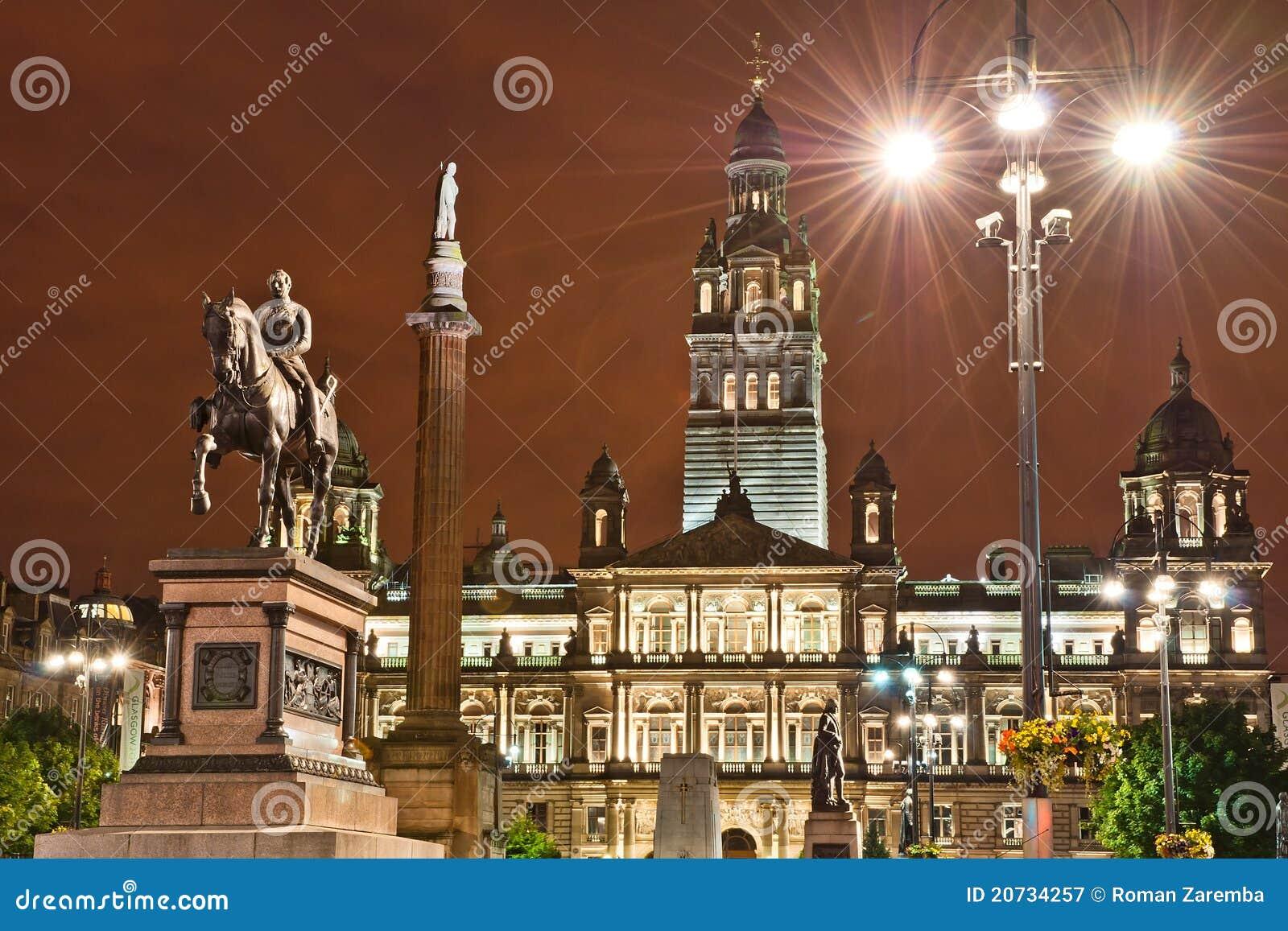 George-Quadrat, Glasgow